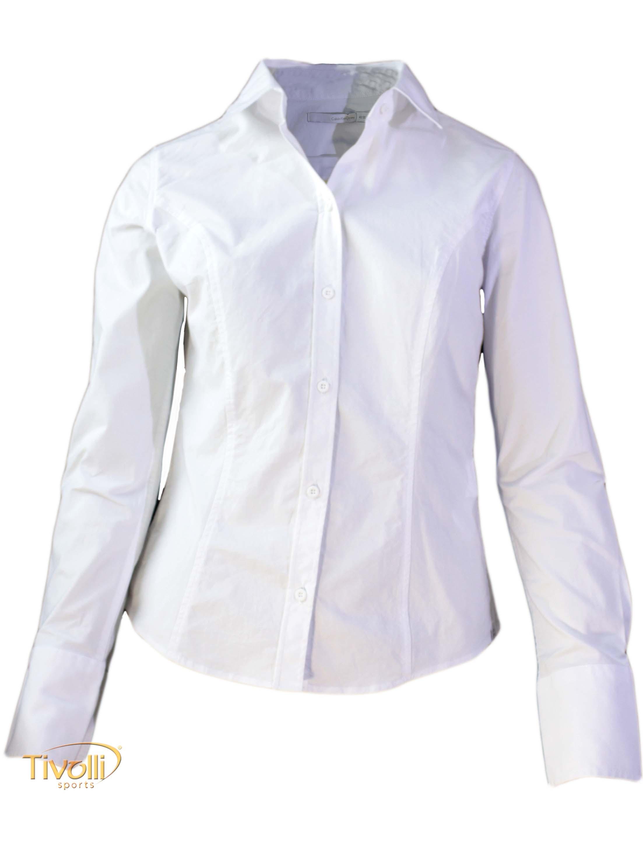 cb608d00f3 Camisa Feminina Calvin Klein   Branca
