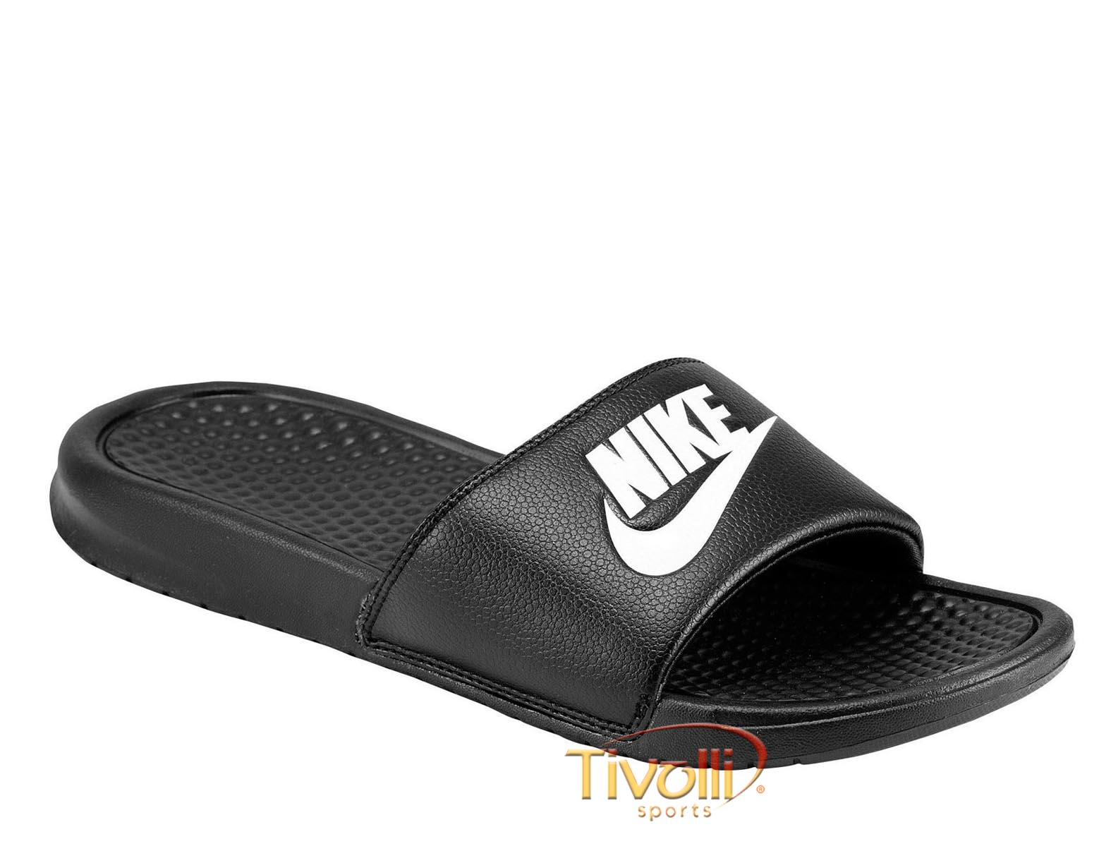 b67059757 Chinelo Nike Benassi Just Do It Preto e Branco. Código: 343880 090