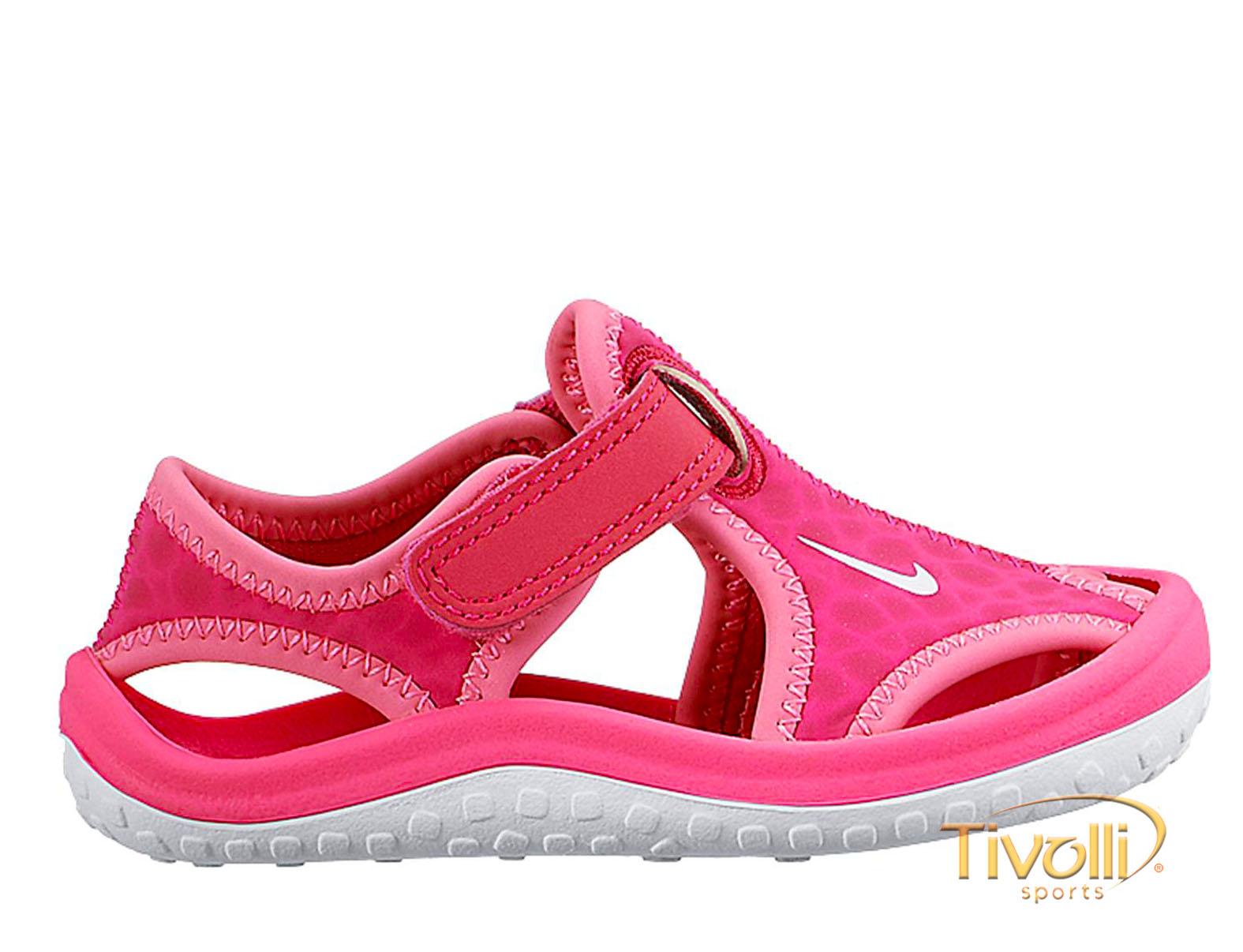 03be0de6d Sandália Nike Sunray Protect (TD) papete infantil > rosa pink >
