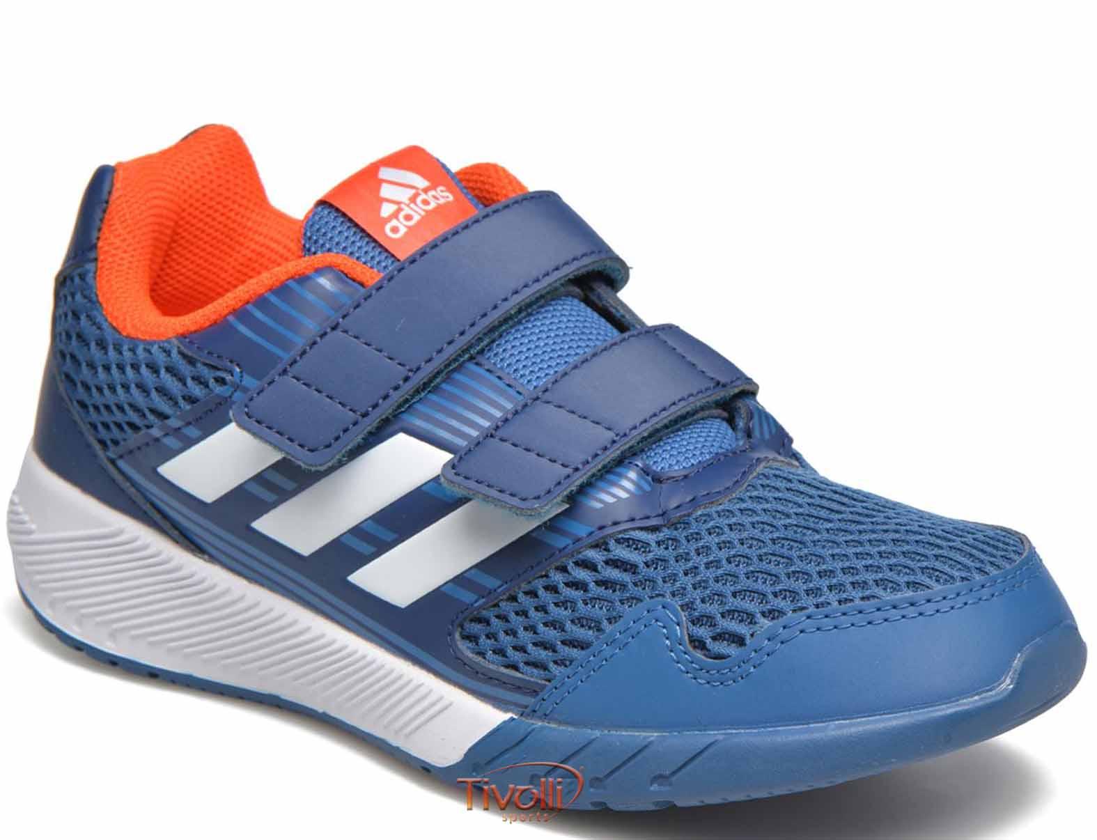 7095d3178c4 Tênis Adidas AltaRun CF K Infantil Velcro   Azul