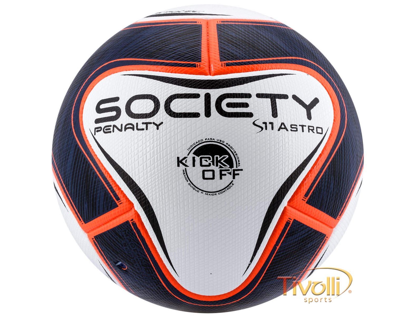 Bola Penalty S11 Pró Astro Kick Off VI Society   Branca 4f0be84ee8f18