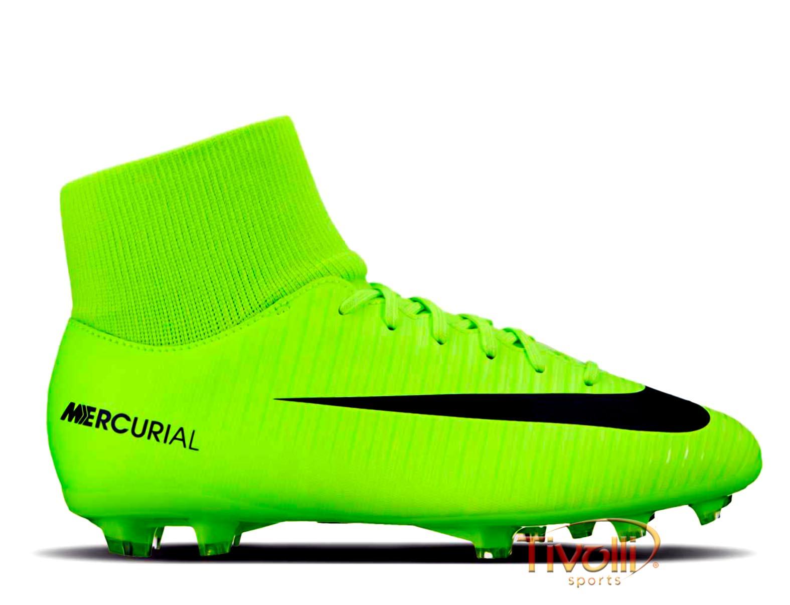 acaf5d709be6b Chuteira Nike Jr Mercurial Victory VI DF FG Infantil
