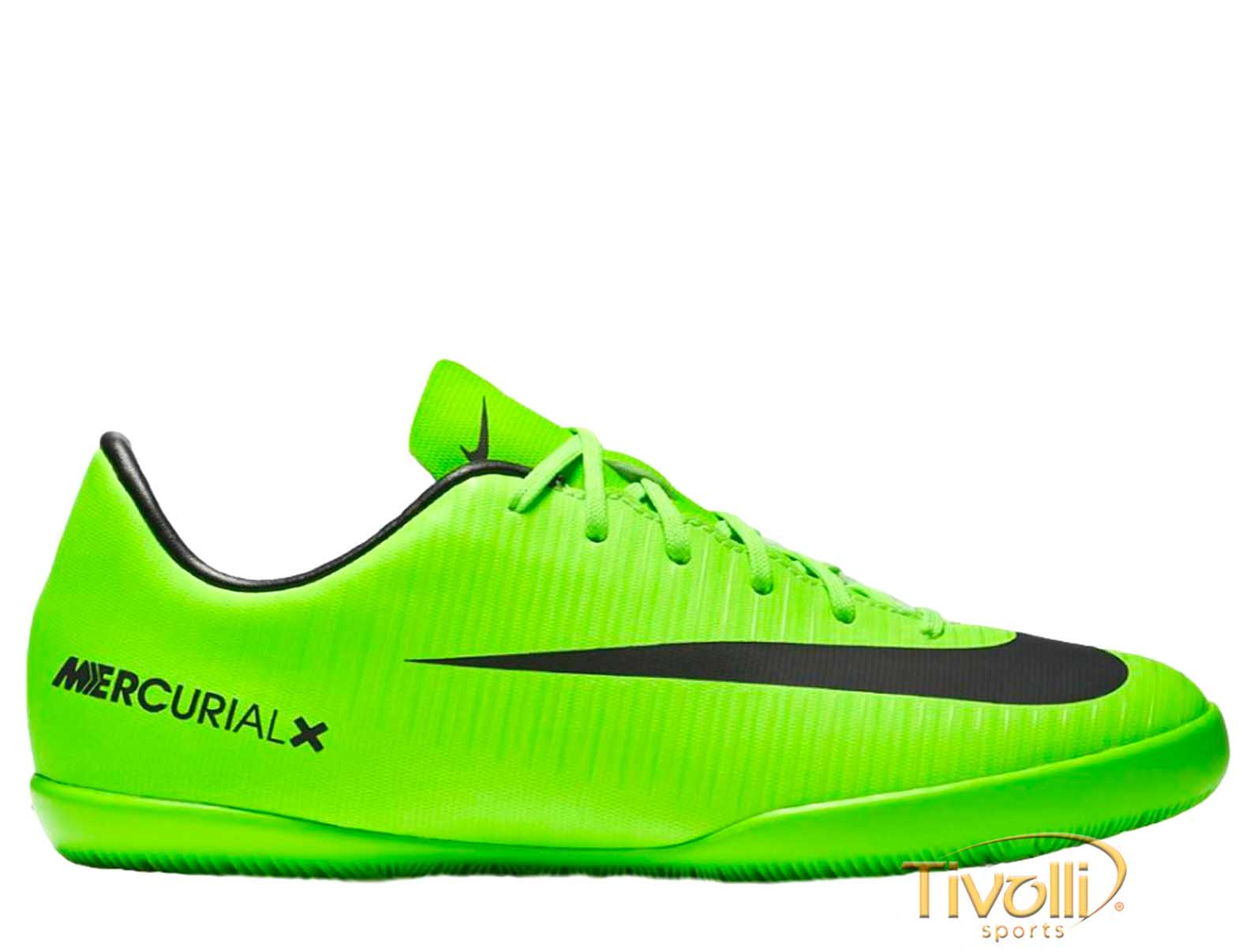 3656c4b20f533 Chuteira Nike Mercurial Vapor XI IC Futsal Infantil > >