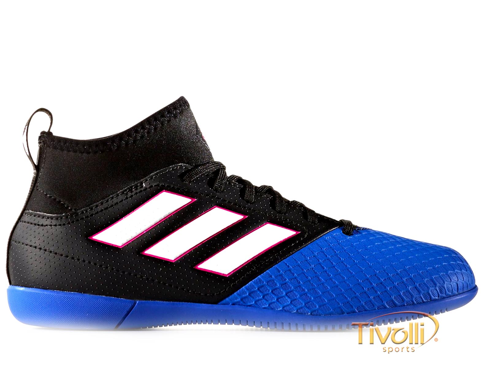 c793c1e982 Chuteira Adidas Ace 16.3 IC PRIMEMESH Futsal Infantil   Preta