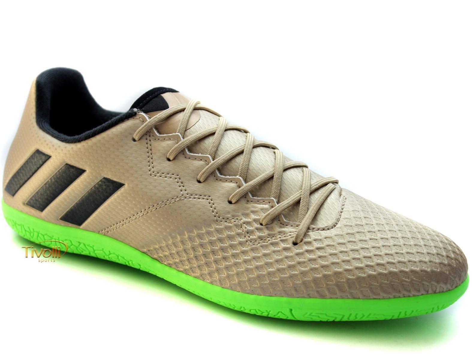 bf08fcb2c3c51 Chuteira Adidas Messi 16.3 IC Futsal