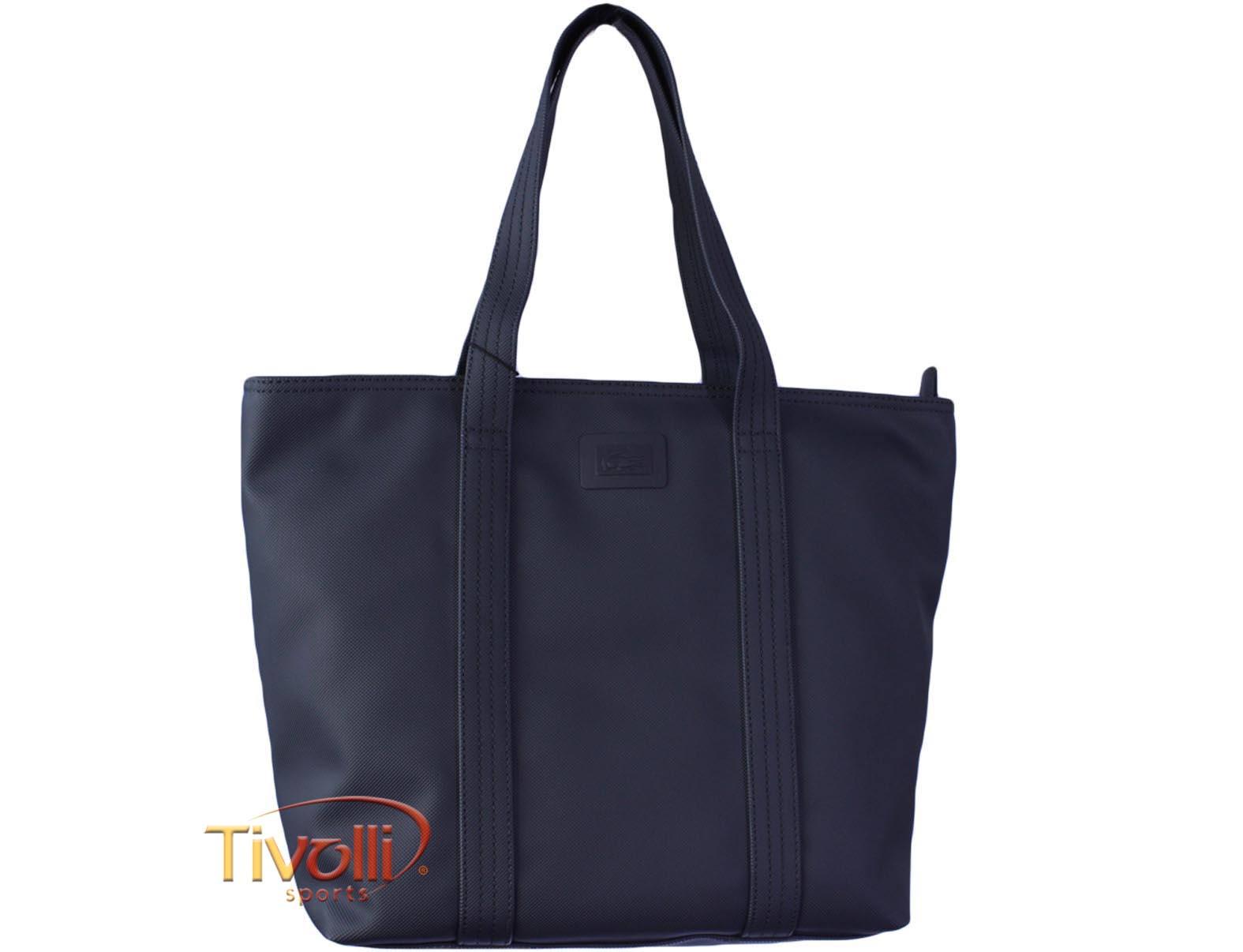 Bolsa Lacoste Medium Shopping Bag   Azul Marinho   c8fe08ceb4