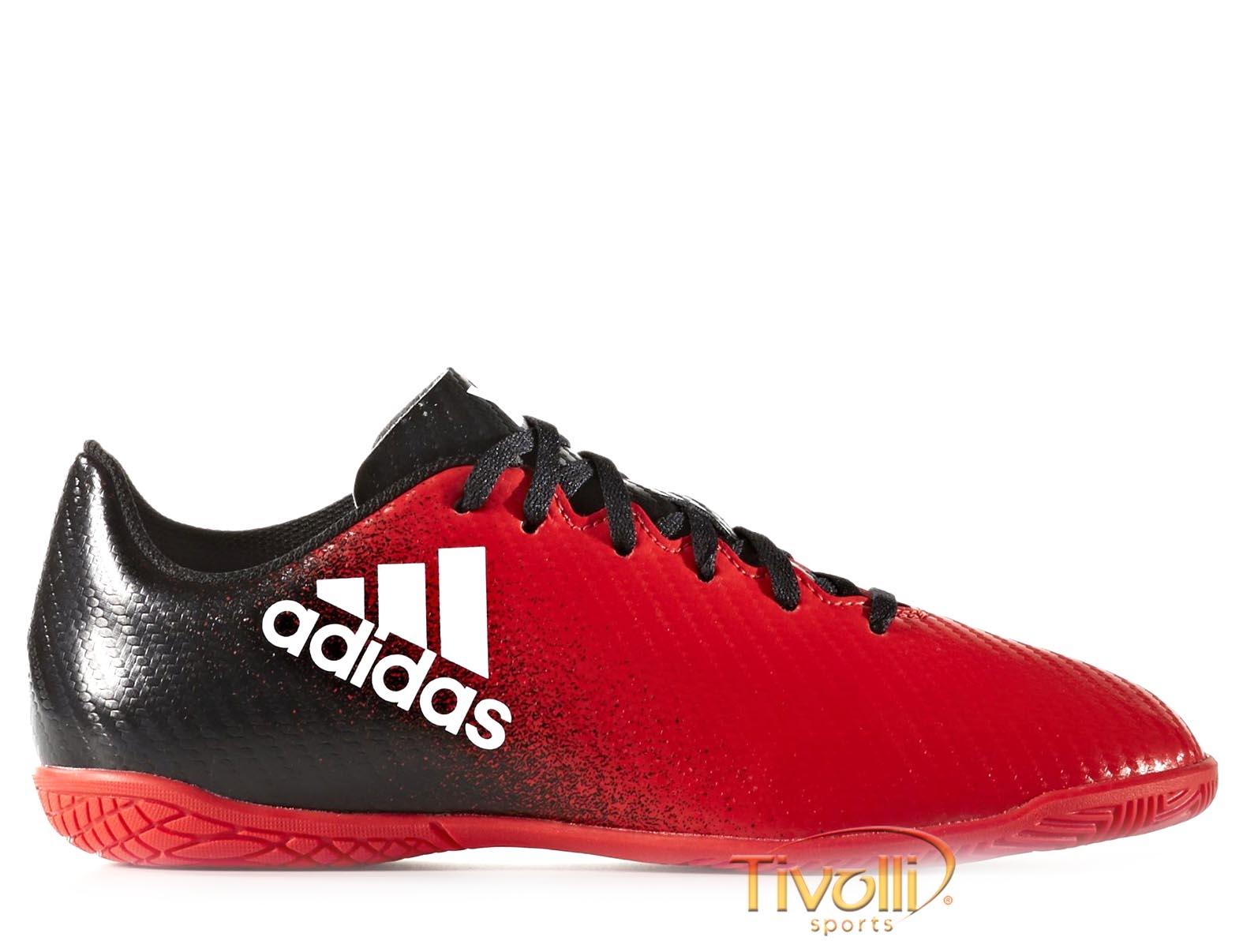Chuteira Adidas Infantil X 16.4 IC Futsal     9743b471f9c2e