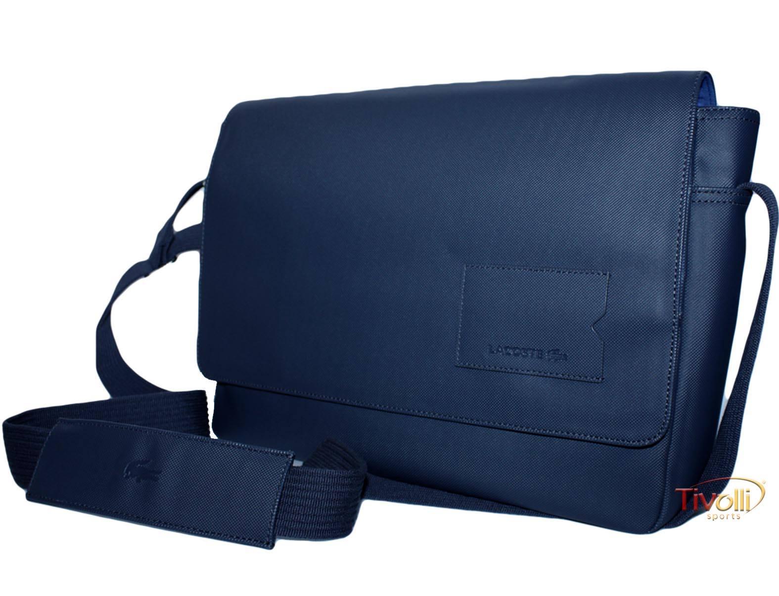 Bolsa Lacoste Messenger Bag   Azul Marinho   6be0664a2a