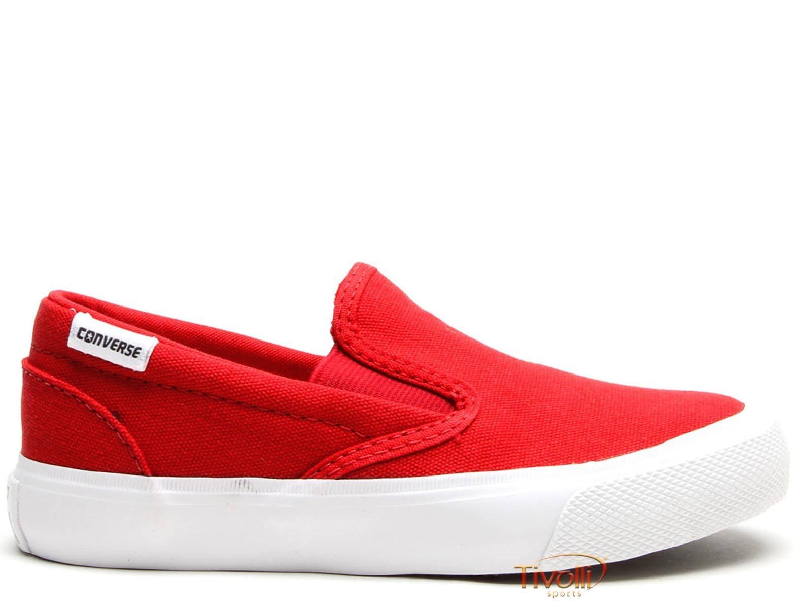 397439b8434 Tênis All Star Converse Core Slip Infantil tam. 26 ao 33 Vermelho e Branco