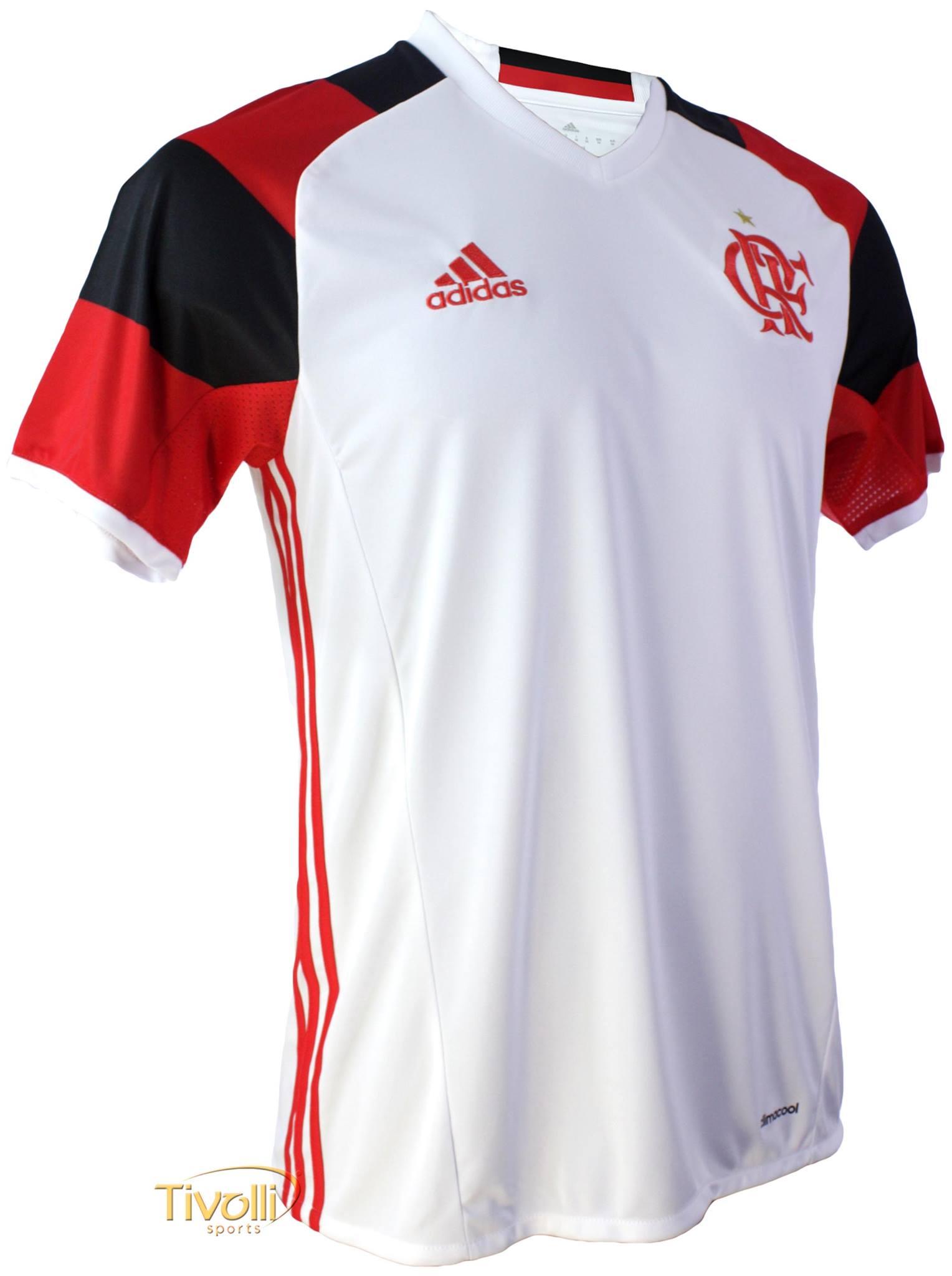 fae56fbcbb5 Camisa Flamengo II Away 2017 Adidas