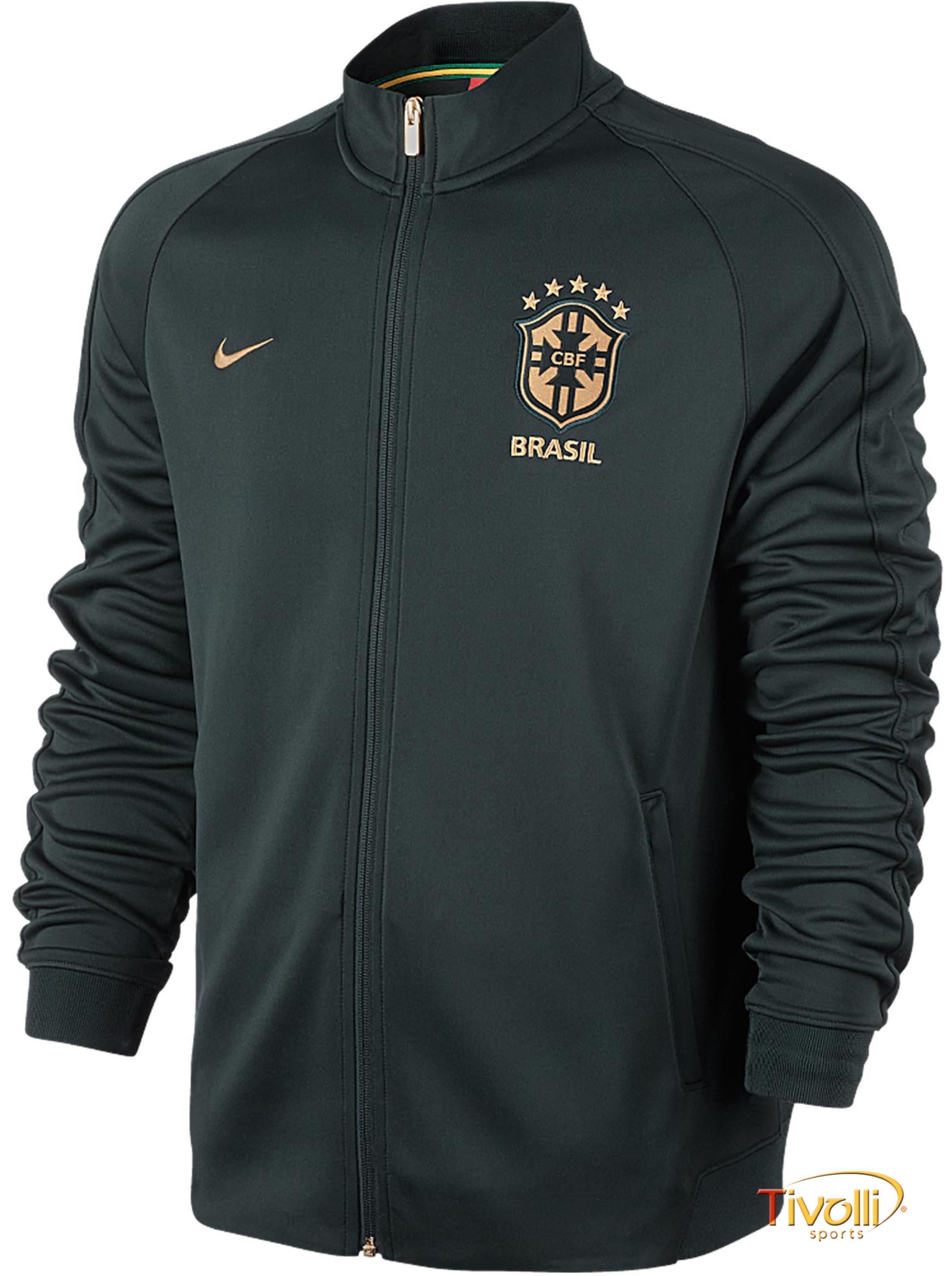 3ee7cfff39 Jaqueta Brasil CBF III N98 Authentic Nike