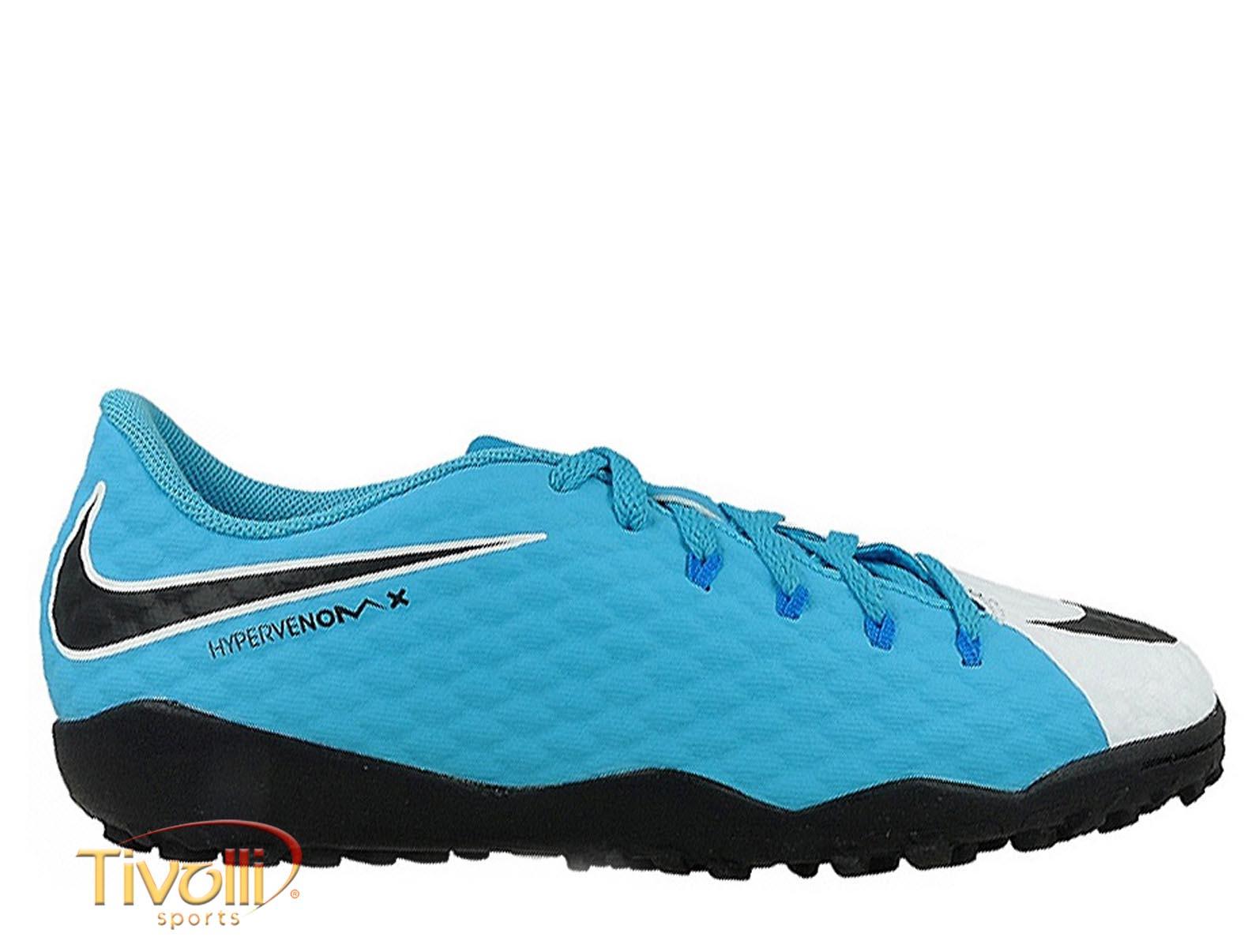 1f6886848b971 Chuteira Nike JR. HypervenomX Phelon III TF Society Infantil