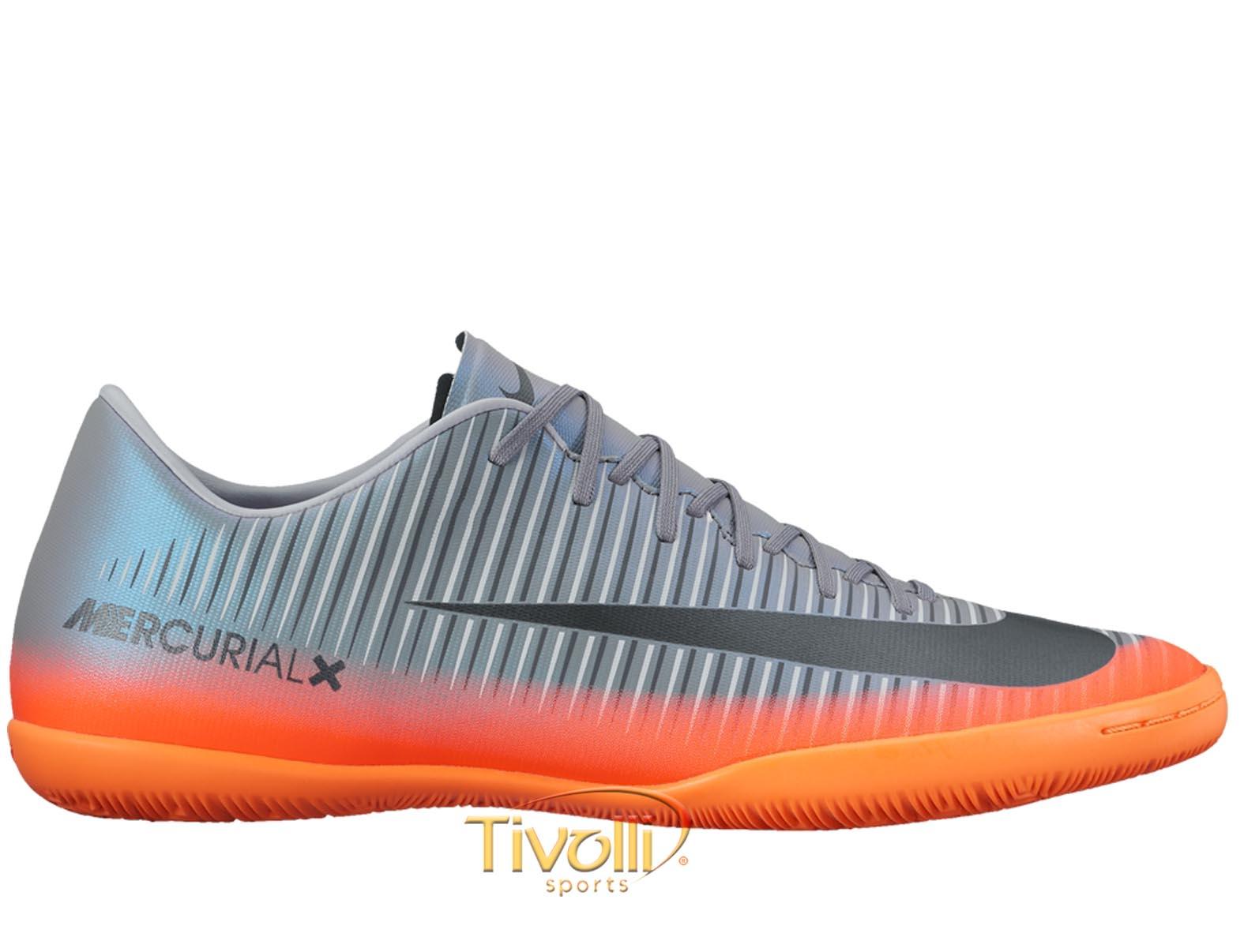 Chuteira Nike MercurialX Victory VI CR7 IC Futsal     178c789329958