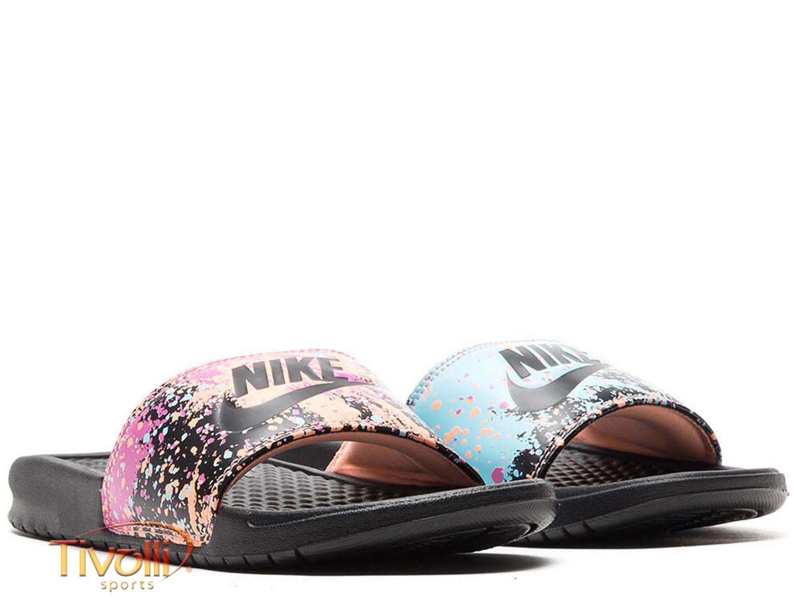 7d876596c49de Chinelo Nike Benassi Just Do It Print > >