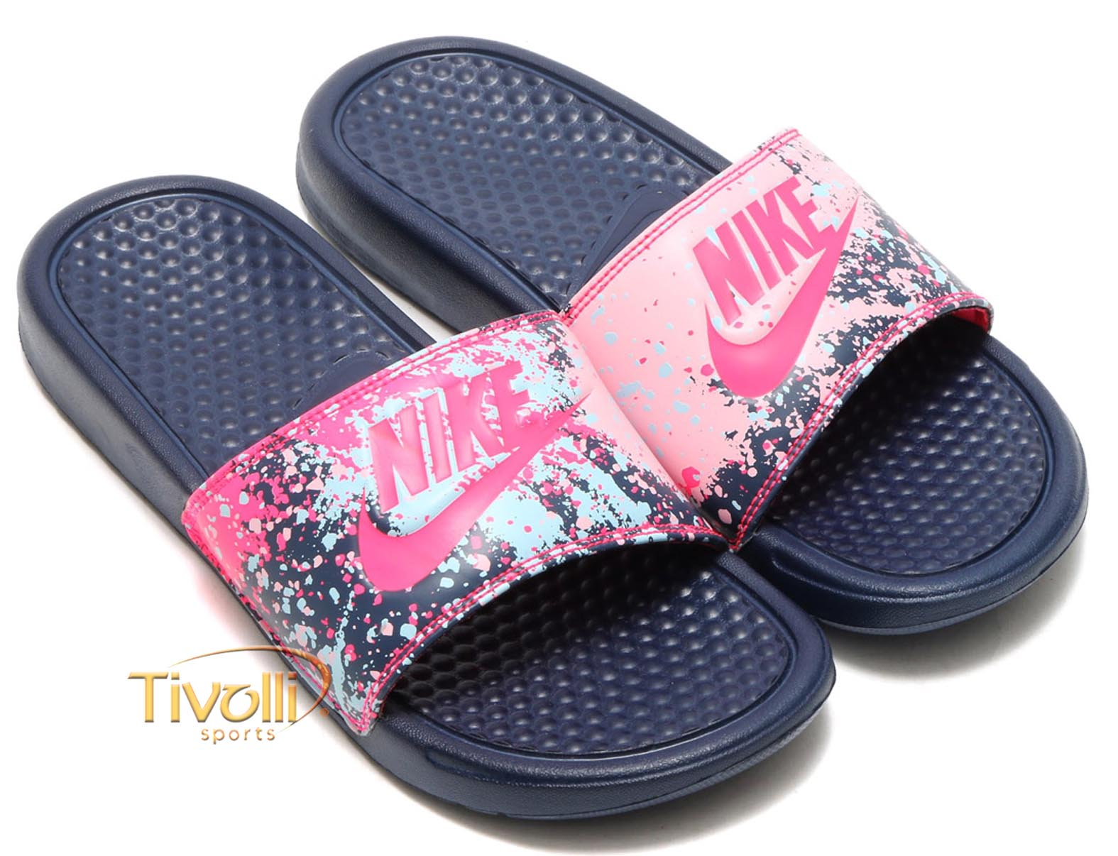 1c1df2f3bd Chinelo Nike Benassi Just Do It Print