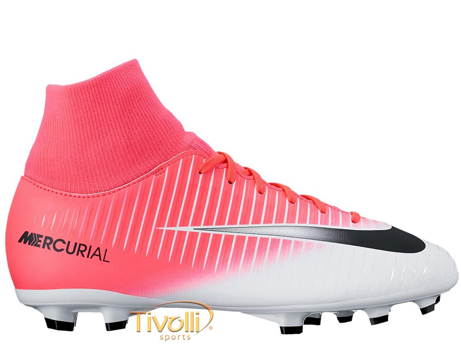Chuteira Nike JR. Mercurial Victory VI DF FG Campo Infantil     f66406537a6cf
