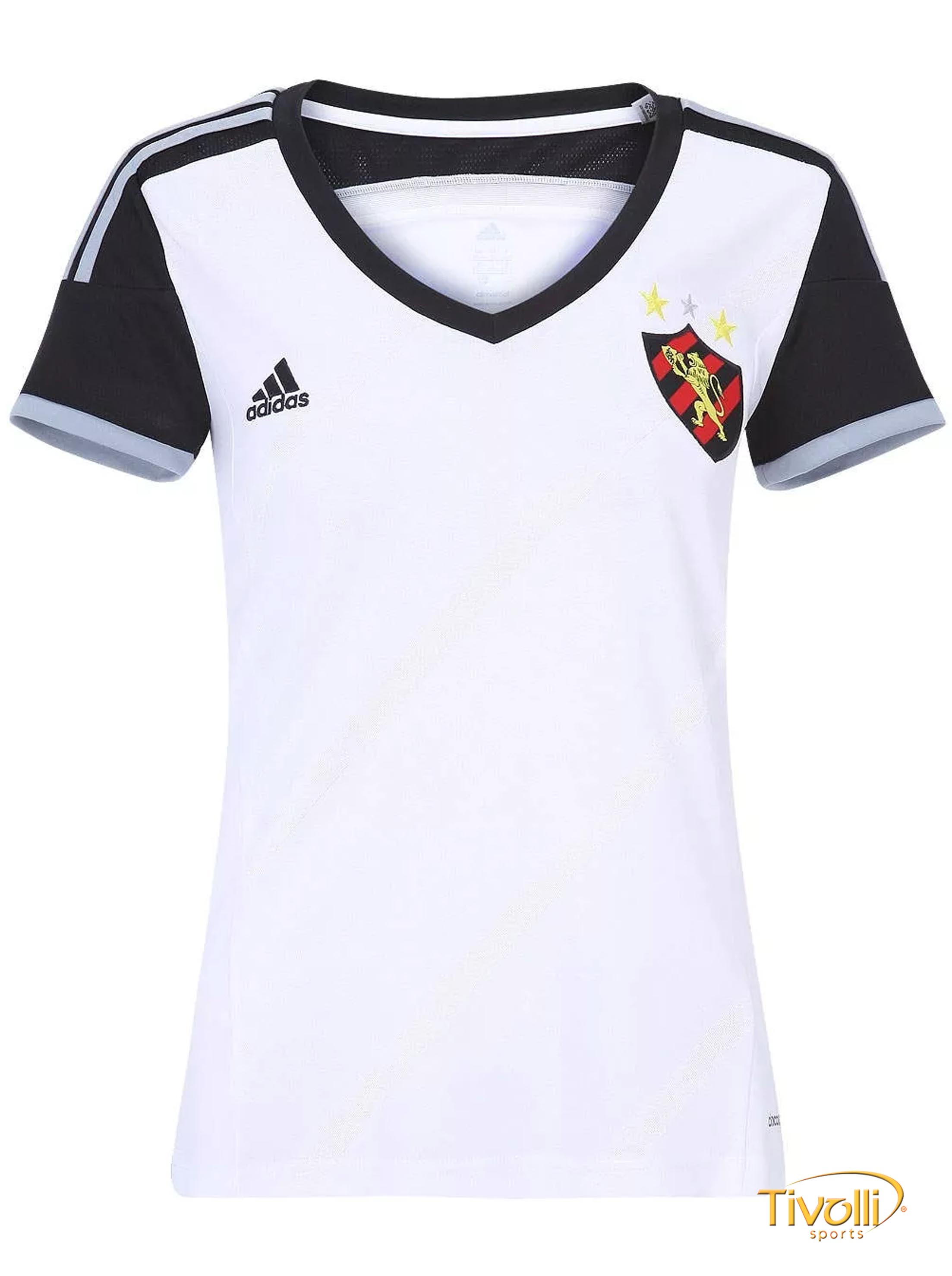 62786ea70 Camisa Club Sport Recife II Feminina 2014 Adidas > - Mega Saldão >
