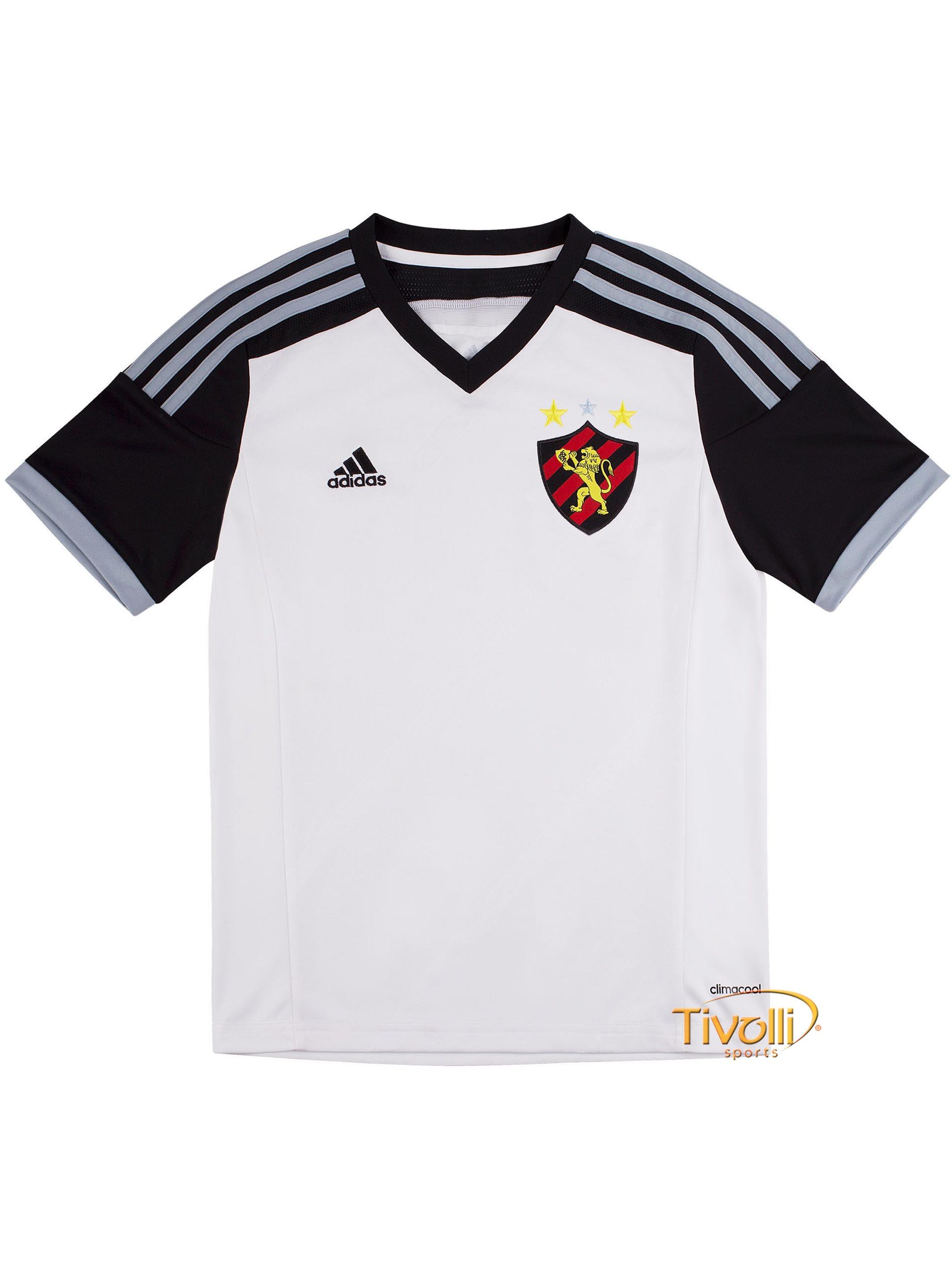 954c3a5e7 Camisa Sport Club Recife II Infantil 2014 Adidas > - Mega Saldão >