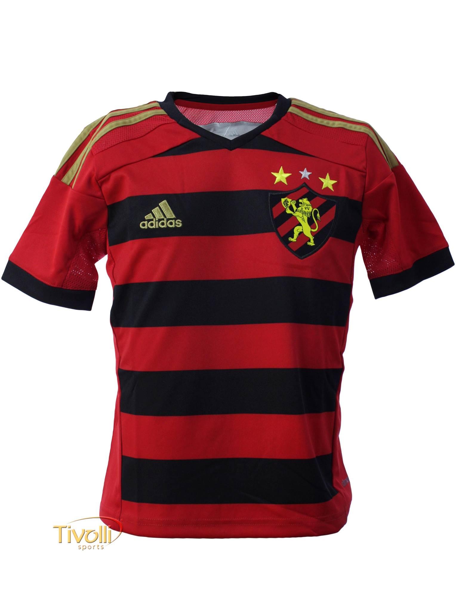 4426daf1f Camisa Sport Recife I 2014 Infantil Adidas > - Mega Saldão >