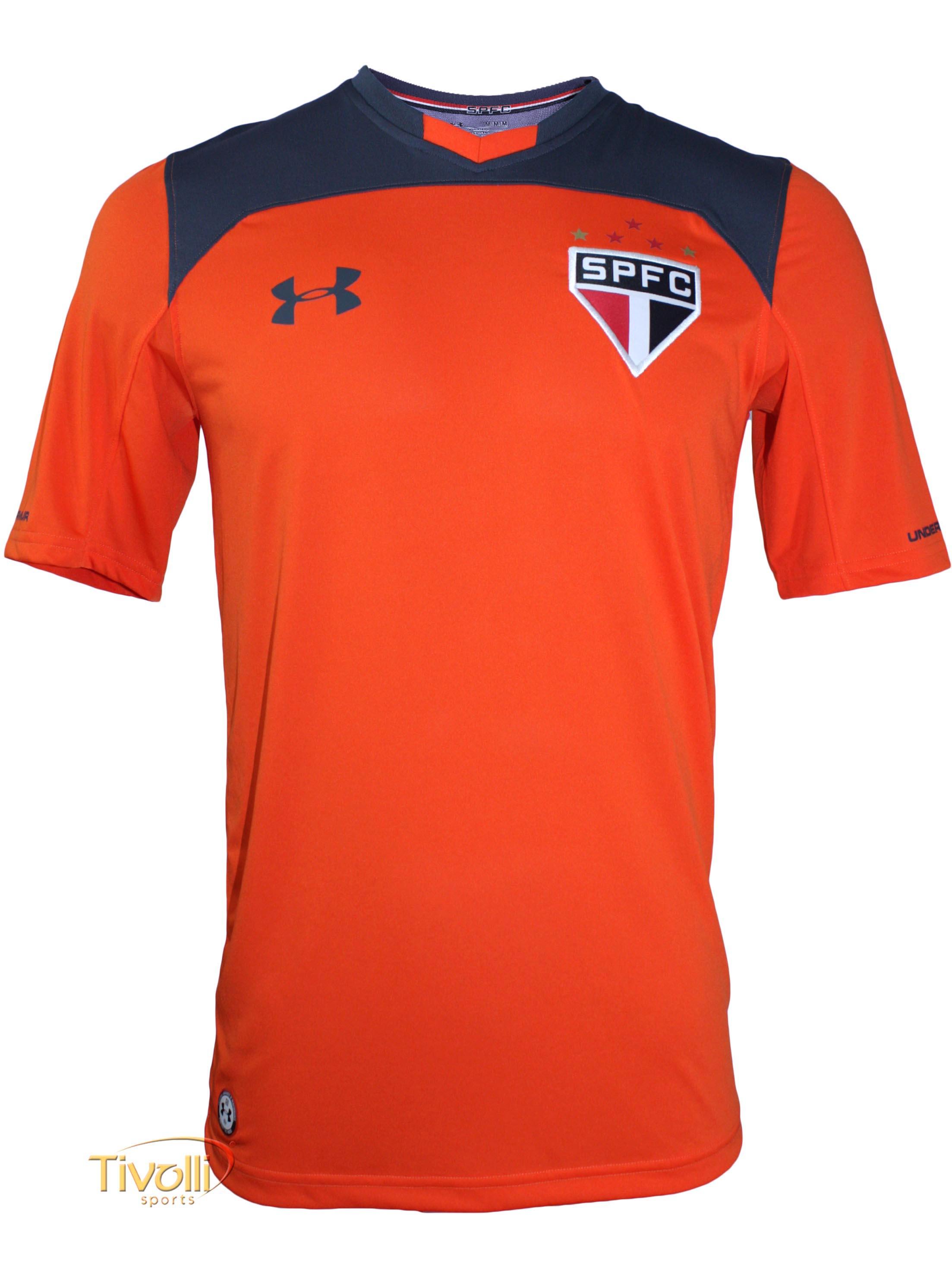 2cb6ab23efd Camisa São Paulo SPFC Goleiro 2017 2018 Under Armour