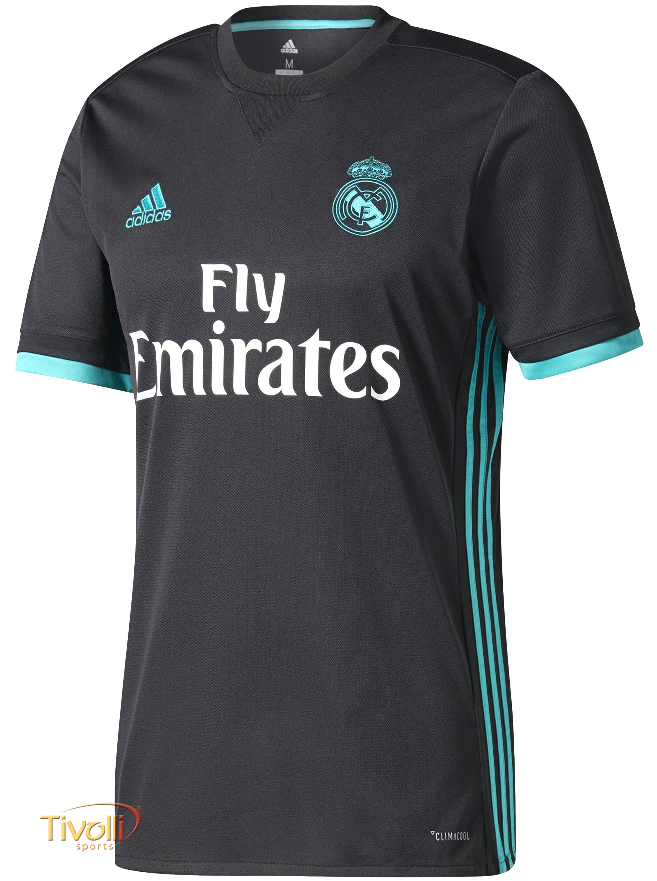 d69fc631b0 Camisa Real Madrid II Away 2017 2018 Adidas