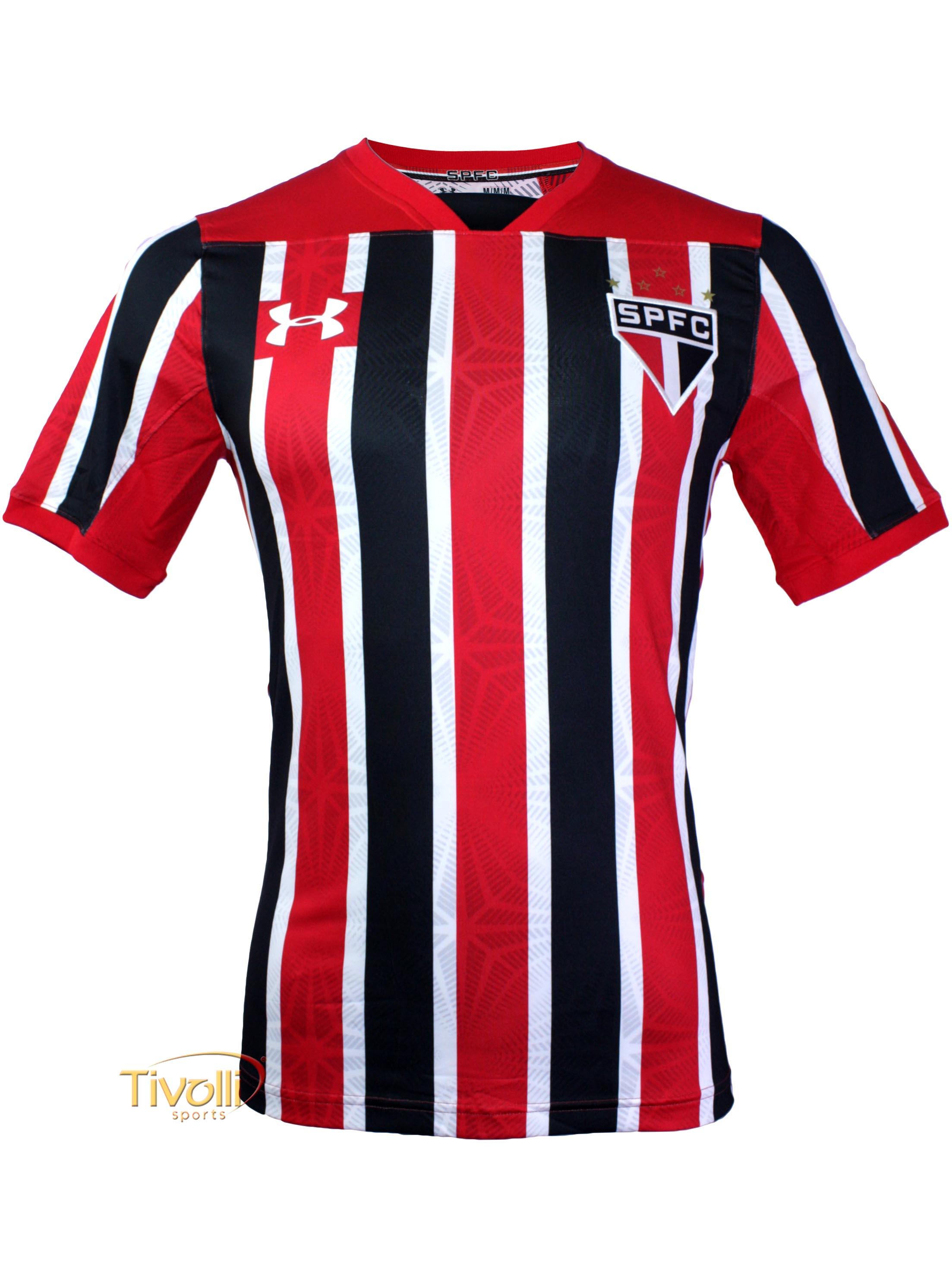 77f2cf6e29 Camisa São Paulo SPFC Jogador II Away 2017 2018 Under Armour