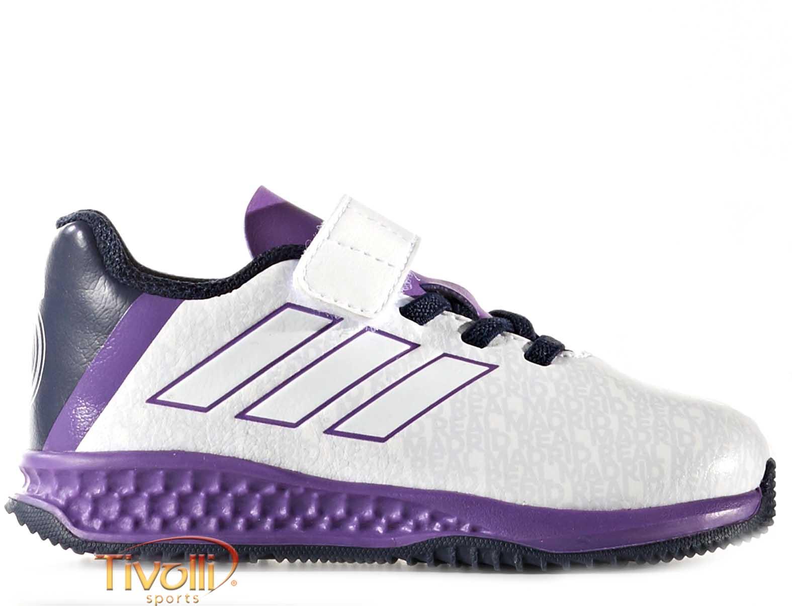 e60e3a873b289 Chuteira Adidas Rapida Turf Real Madrid EL I Infantil > >
