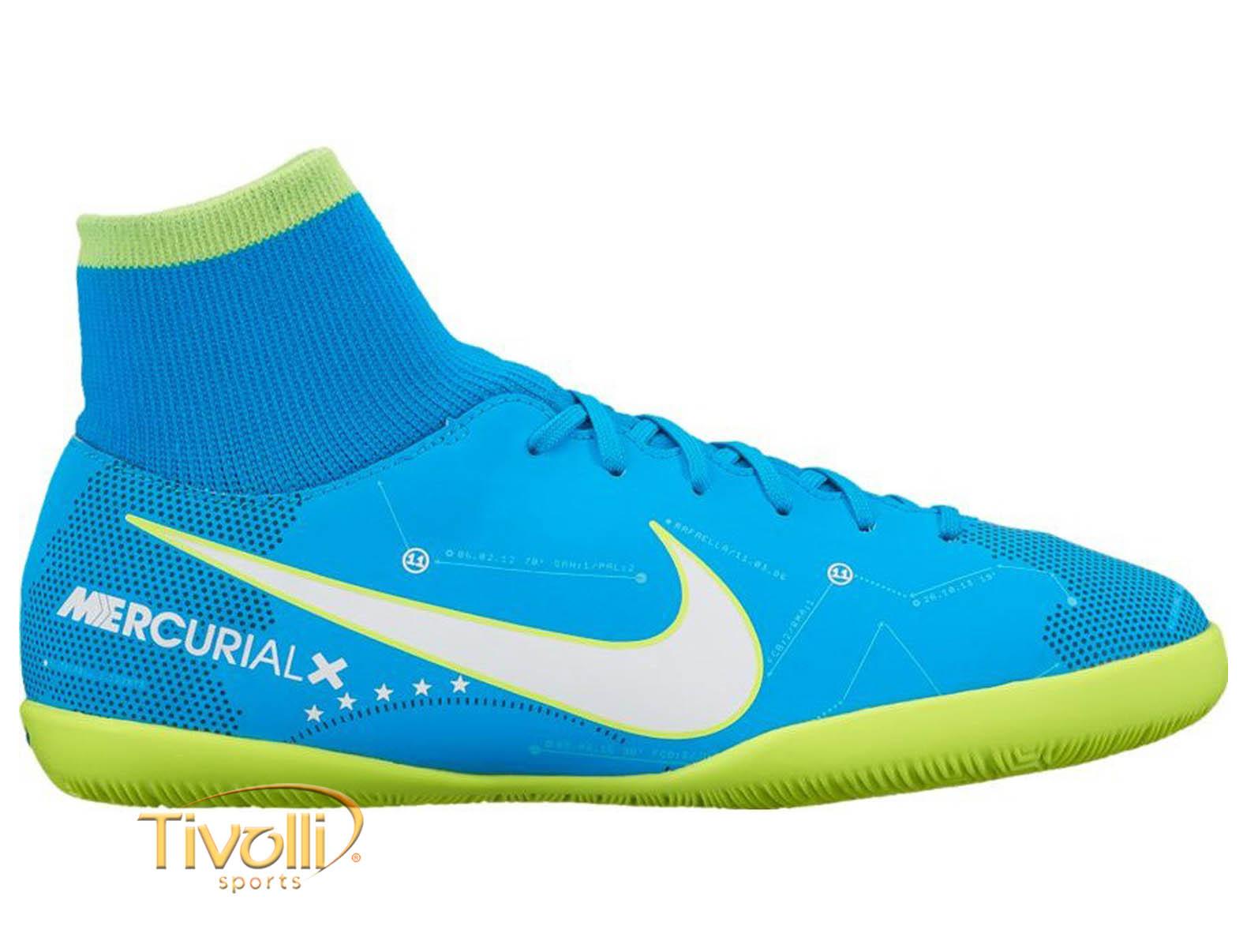 47ae77b8968d3 Chuteira Nike Jr. MercurialX Victory VI DF Neymar Jr. IC Futsal Infantil