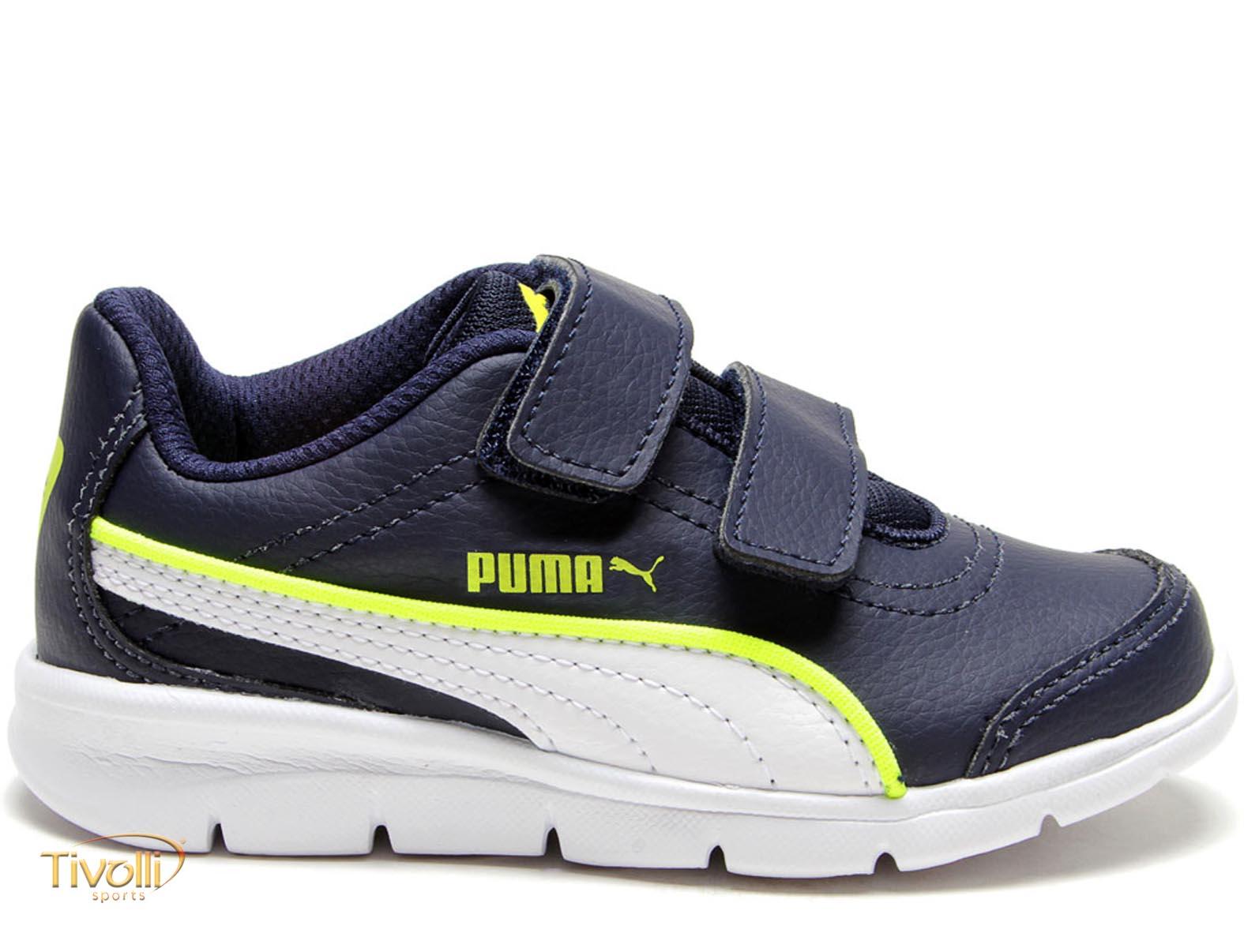e83e7a92ff Tênis Puma Stepfleex Run SL V PS BDP Infantil   tam. 26 ao 32