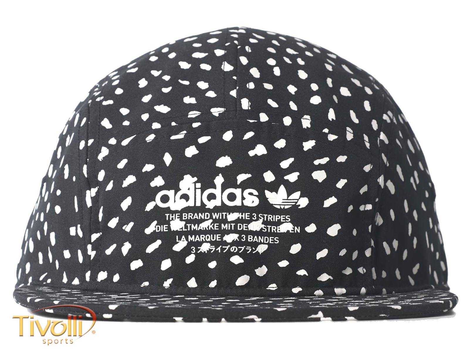 Boné Adidas Dots NMD Hat   Preto e Branco   ee40fa2def1