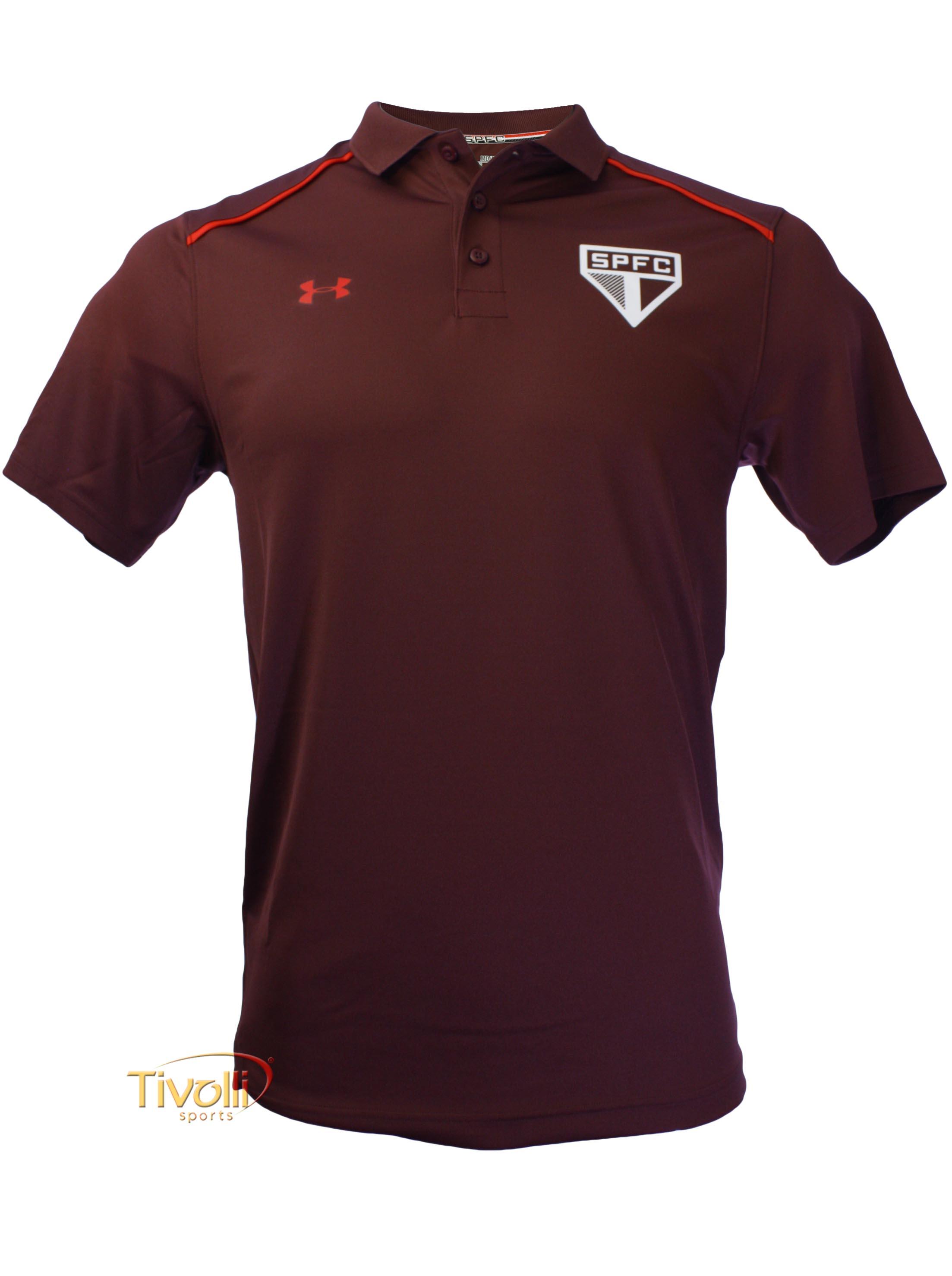 b832ad84996 Camisa Polo São Paulo SPFC 2017 Under Armour