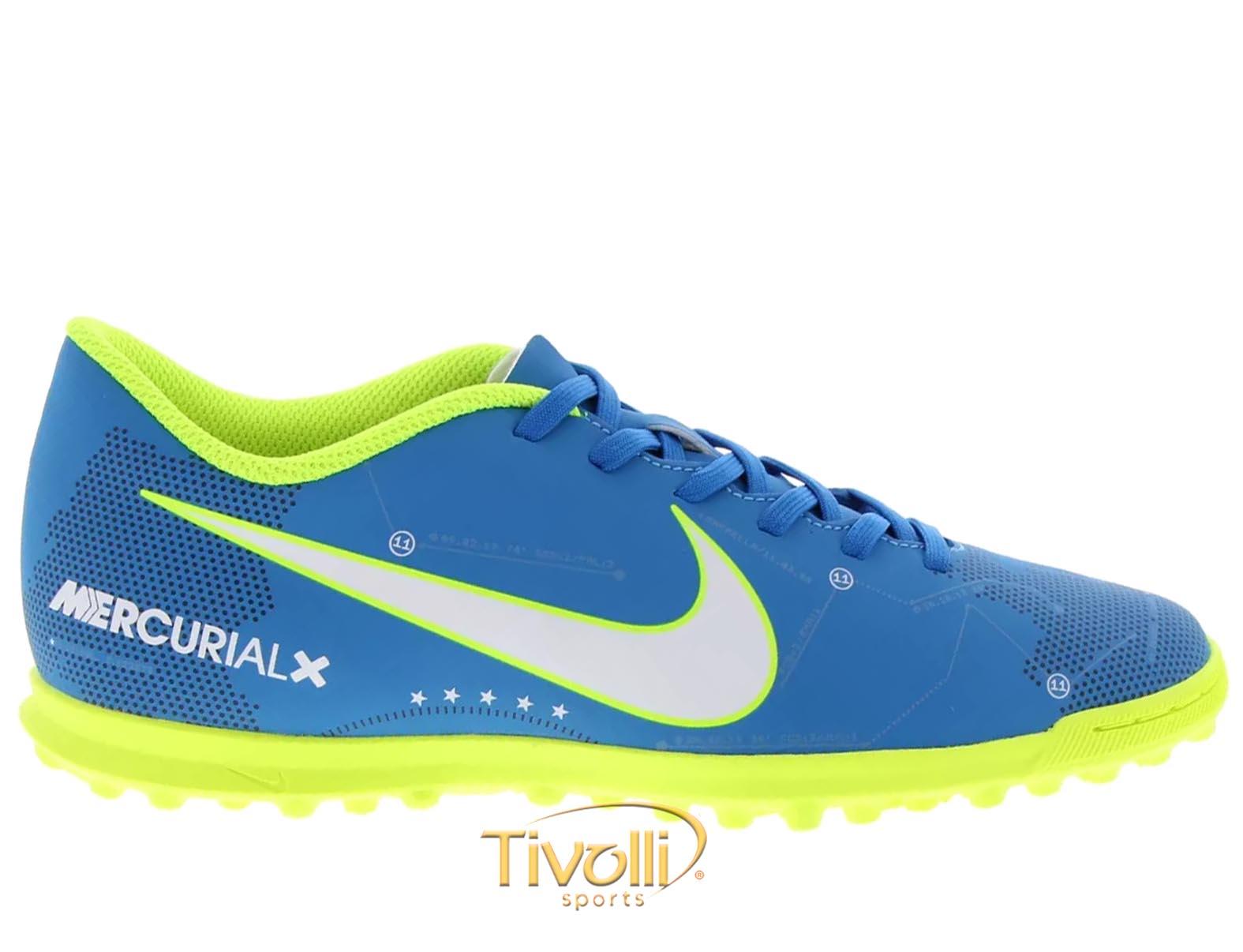 Chuteira Nike MercurialX Vortex III Neymar Jr. TF Society     387026339e47b
