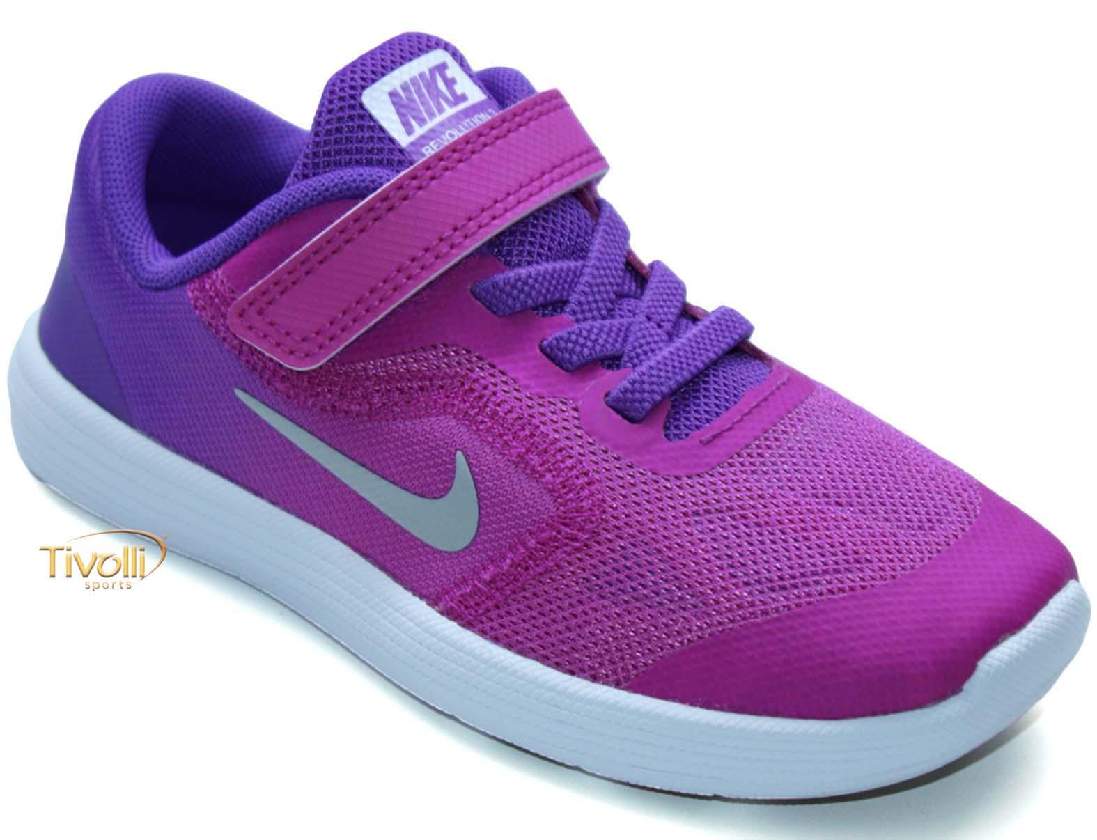 Tênis Nike Revolution 3 (PSV)   tam. 27 ao 33   a23da6d59962c