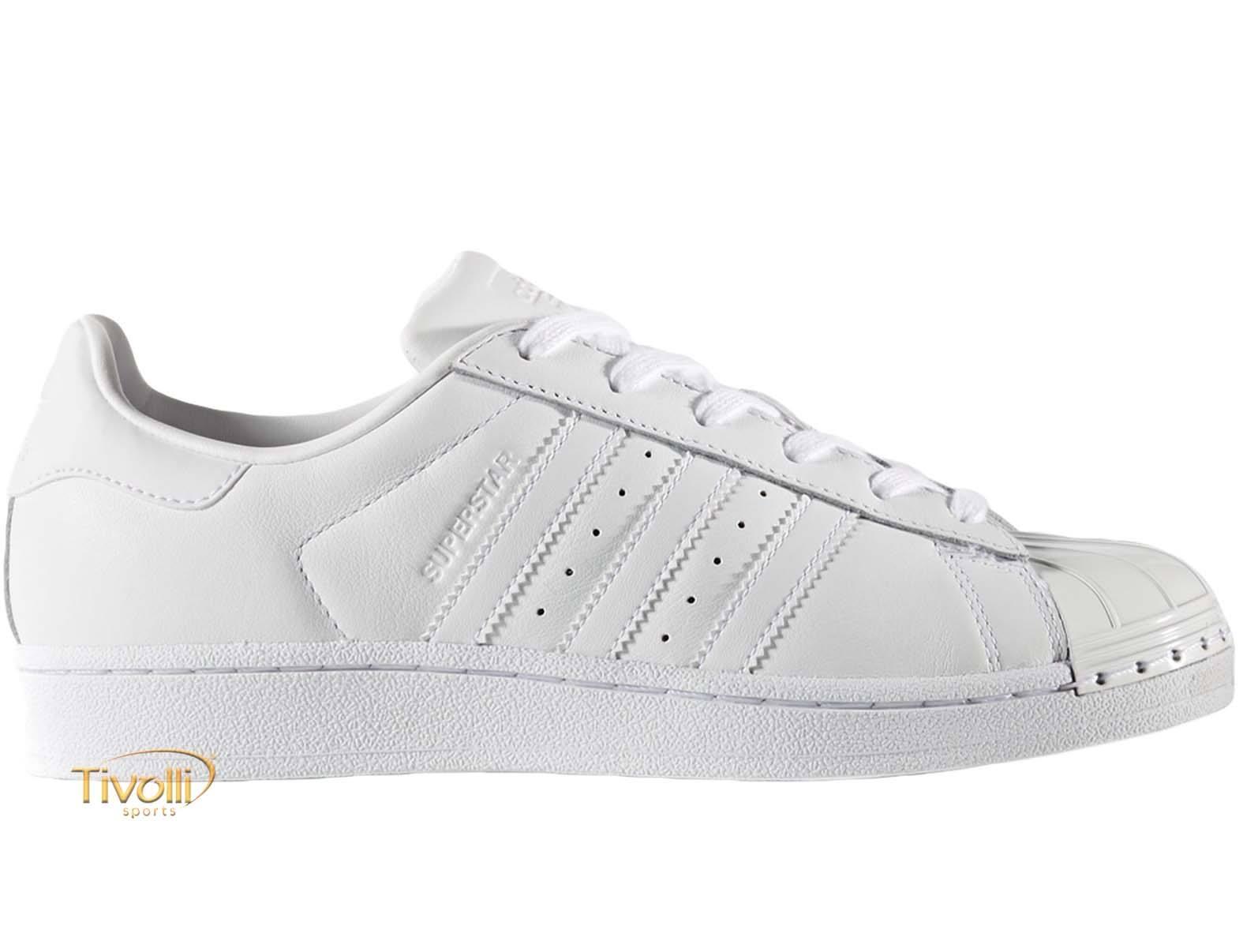 Tênis Adidas Superstar Metal Toe W   tam. 34 ao 39   138b7e4274b6b