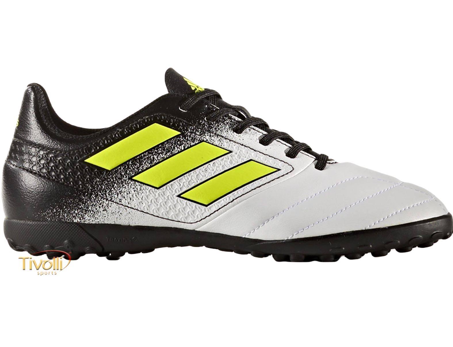 ... Chuteira Adidas Ace 17.4 J Infantil TF Society d67379e2eb944c ... 255bfc5652e83