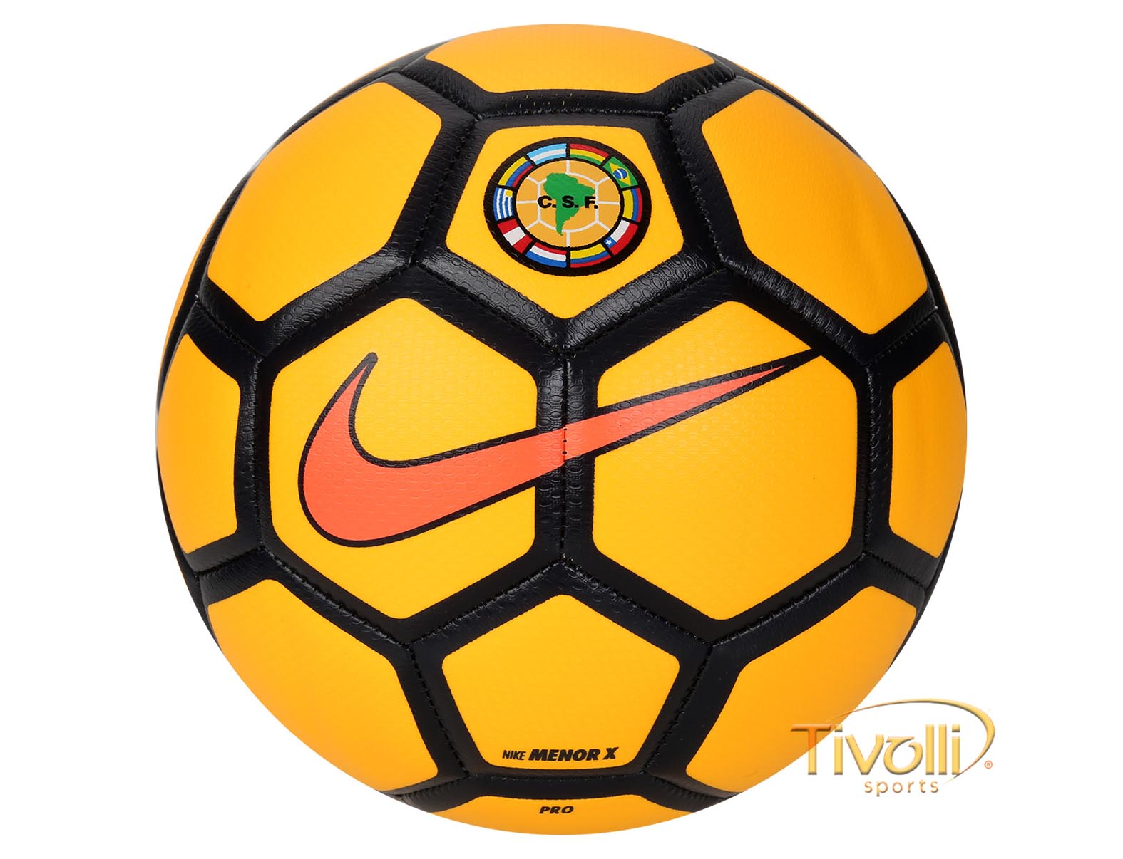 Bola Nike Confederação Sul-Americana FootballX Menor Futsal     0cf240f5d96e5