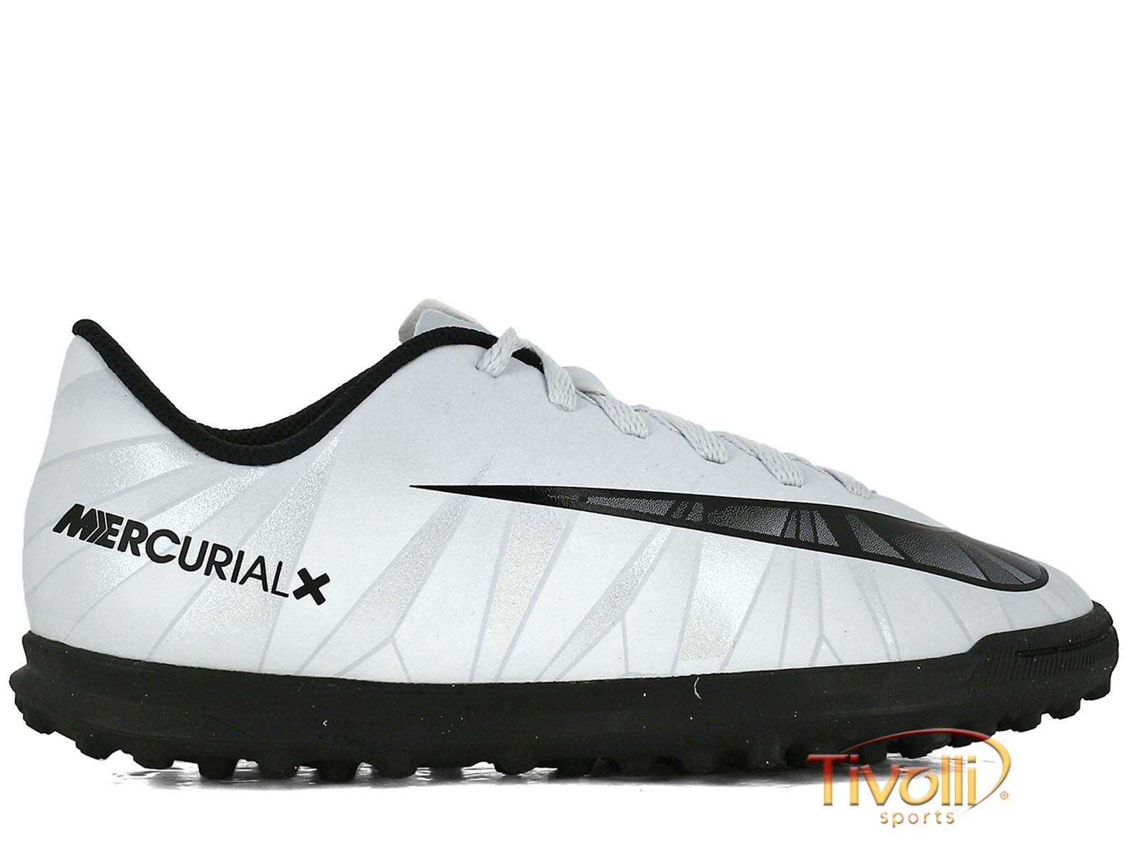 c30d8588f3 Chuteira Nike JR. MercurialX Vortex III CR7 TF Society Infantil - Mega  Saldão