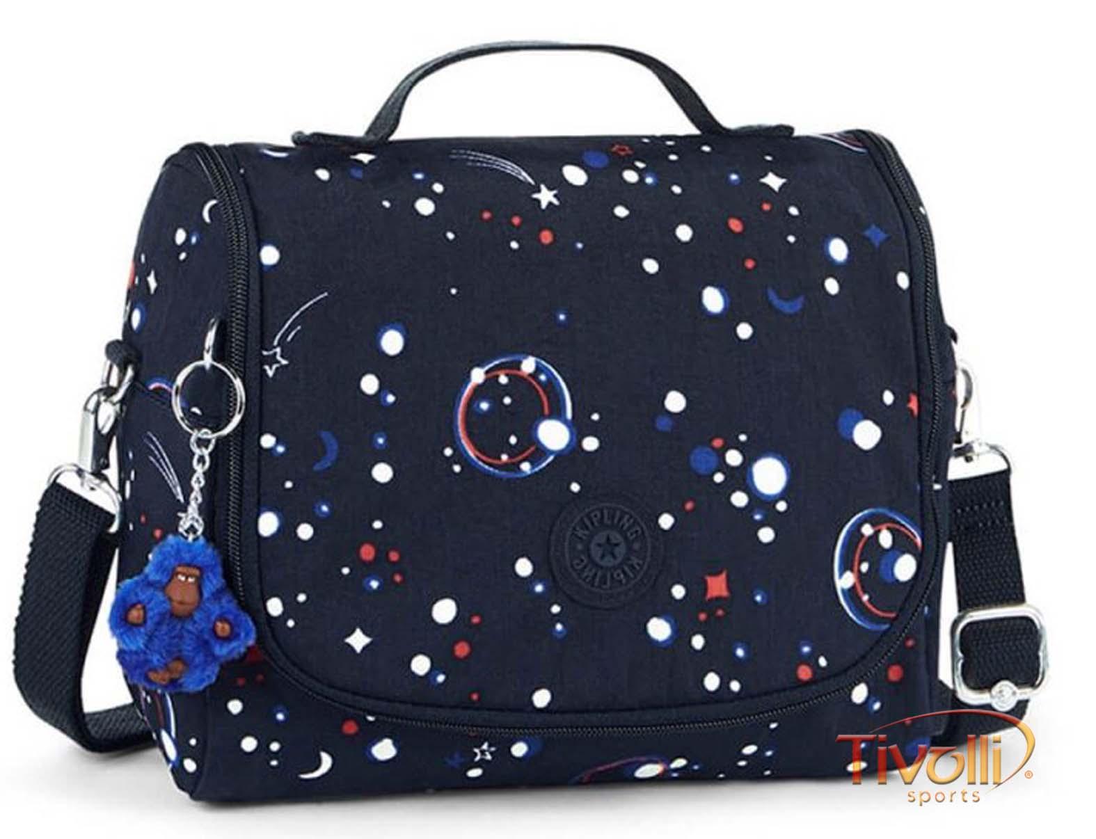 ec9913ba4 Lancheira Kipling New Kichirou Galaxy Party > Azul Marinho >