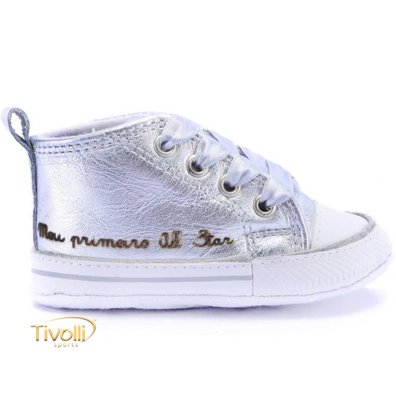 8ee2f5a41e4 Tênis All Star Converse My First All Star Baby Meu primeiro All Star tam.  15 ao 18