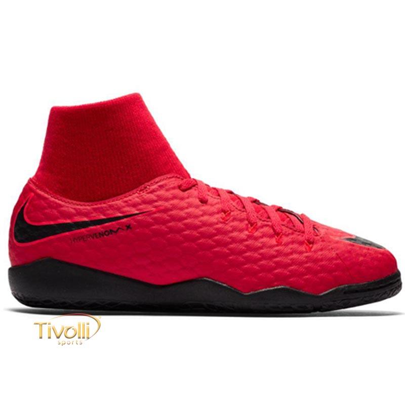 Chuteira Nike JR. HypervenomX Phelon III IC Futsal Infantil     63e77c72fff70