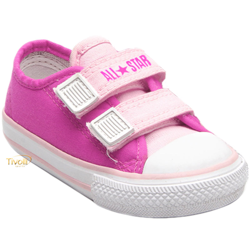 889ec72c2 Tênis Converse All Star CT As Border 2V Infantil Chuck Taylor tam.18 ao 25