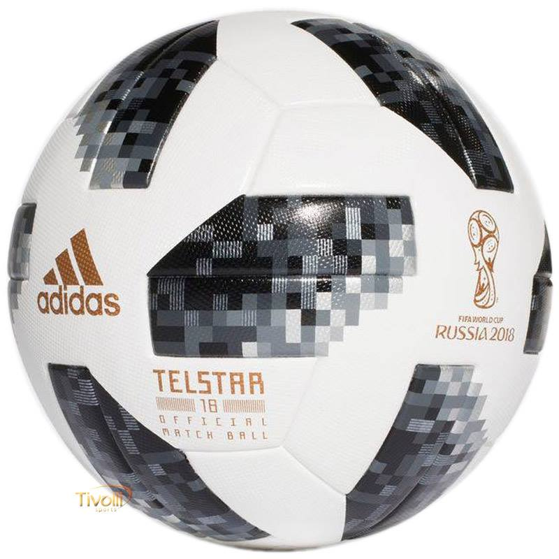 774850501 Bola Futebol Campo Adidas Telstar 18   OMB Oficial Copa Do Mundo FIFA