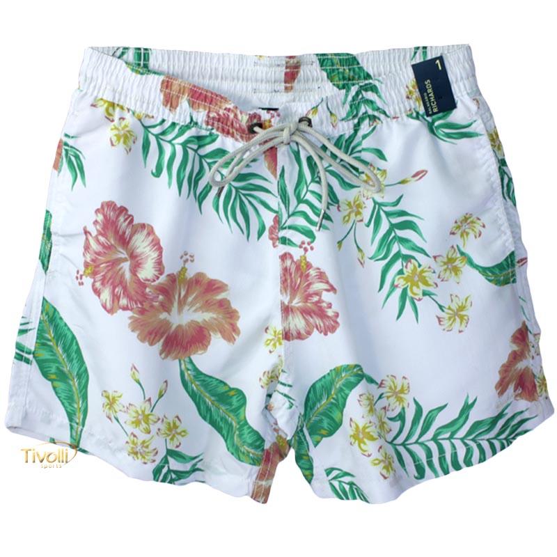 a503524ae8c6 Shorts Richards Praia > Branco Florido >