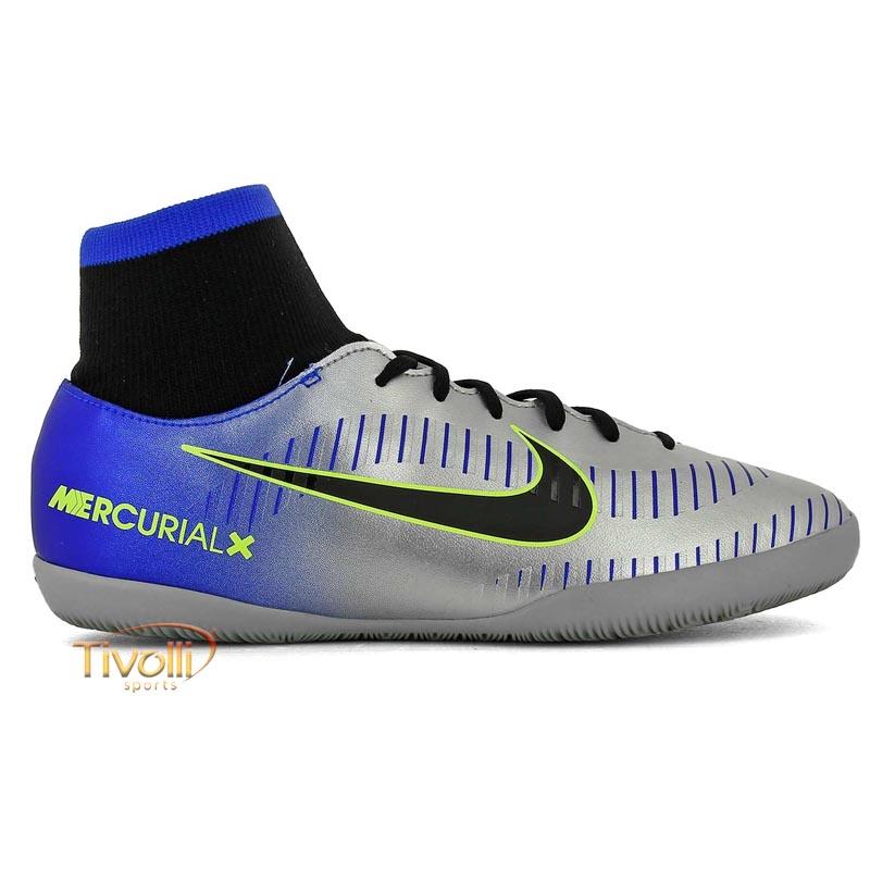 9239e8f353 Chuteira Nike JR. MercurialX Victory VI DF Neymar IC Futsal Infantil
