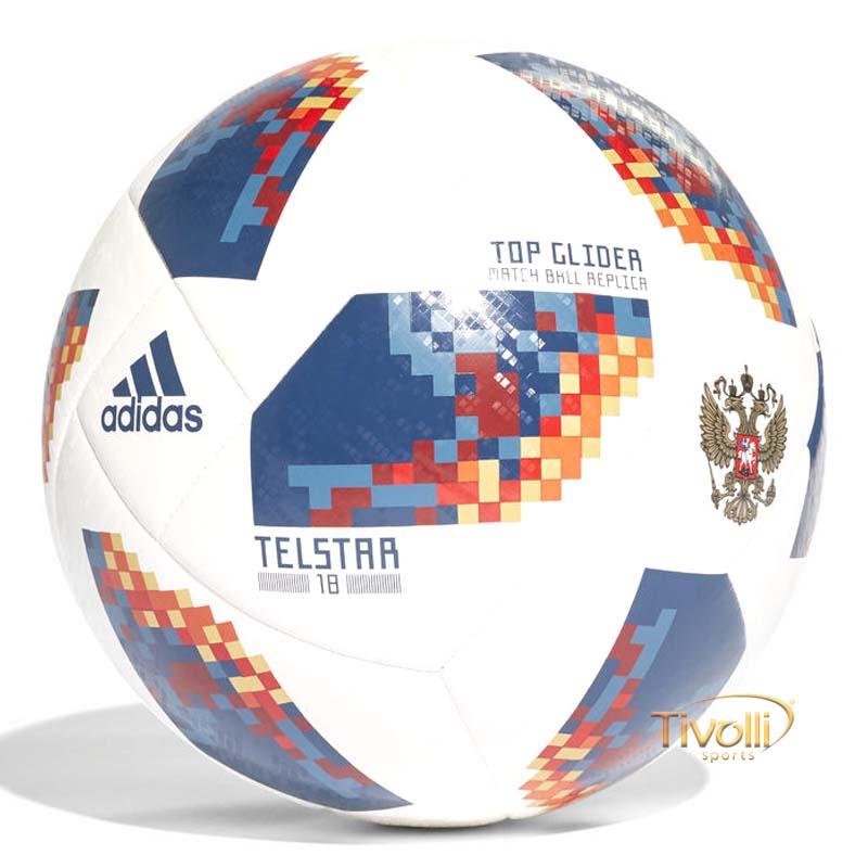 Bola Futebol Campo Adidas FIFA Copa Do Mundo Top Glider Rússia     12f4f339fdd3f