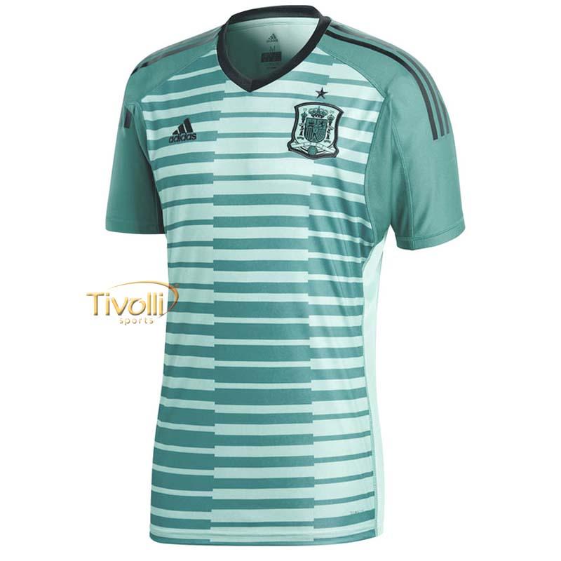Camisa Goleiro Espanha 2018 Adidas     1cdc17931f9bd