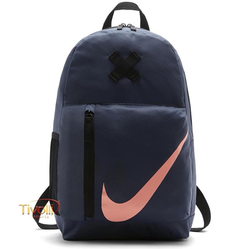 preparar Ser amado Día del Niño  Mochila Nike Elemental > Azul Marinho, Preta e Coral >