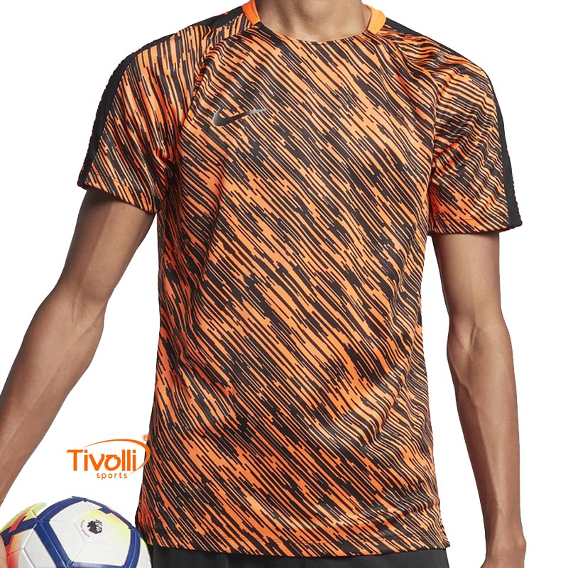 3b127323f3c53 Camiseta Nike Dri-fit Squad   Masculina Laranja