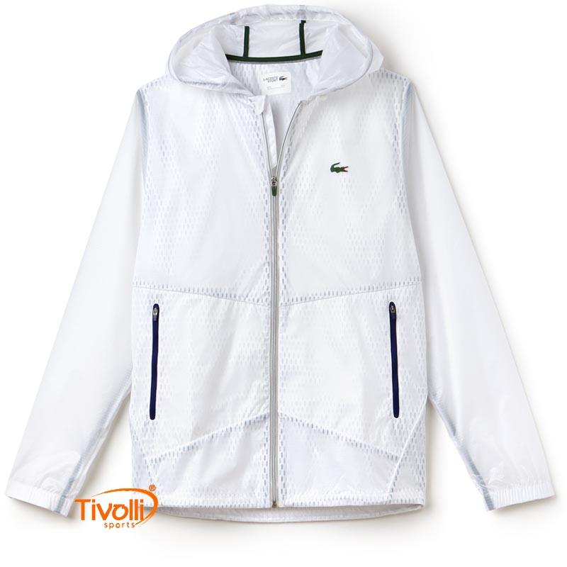 Jaqueta Lacoste Collection Novak Djokovic Exclusiva Clay Edition Masculina c190dab3cf