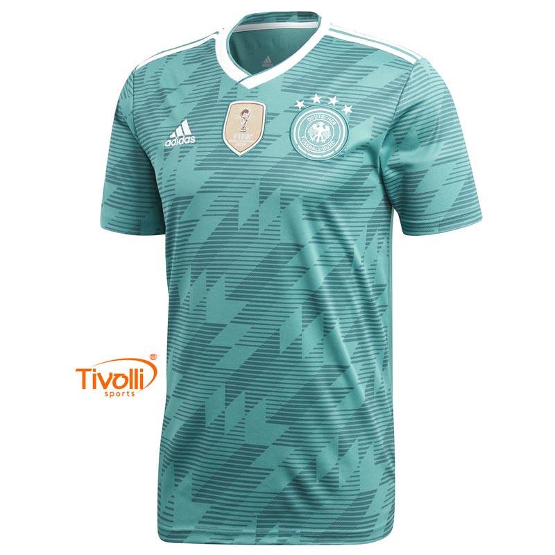 e1859505fabdf Camisa Alemanha II 2018 Infantil Adidas   Away